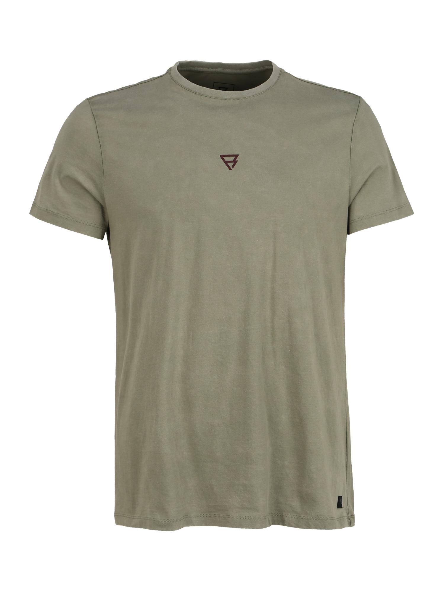 BRUNOTTI Sportiniai marškinėliai 'Ivan' alyvuogių spalva