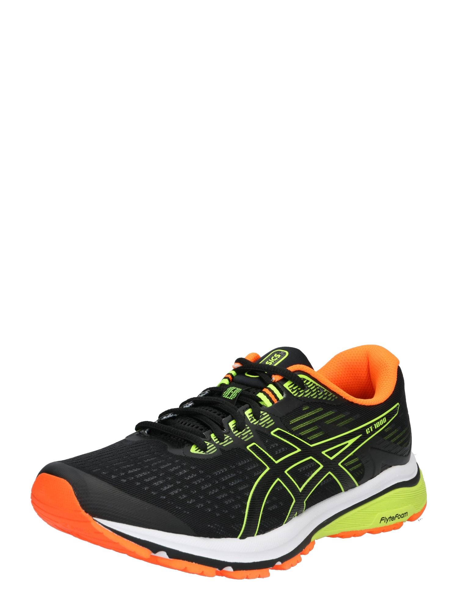 Běžecká obuv GT-1000 8 žlutá červená černá ASICS