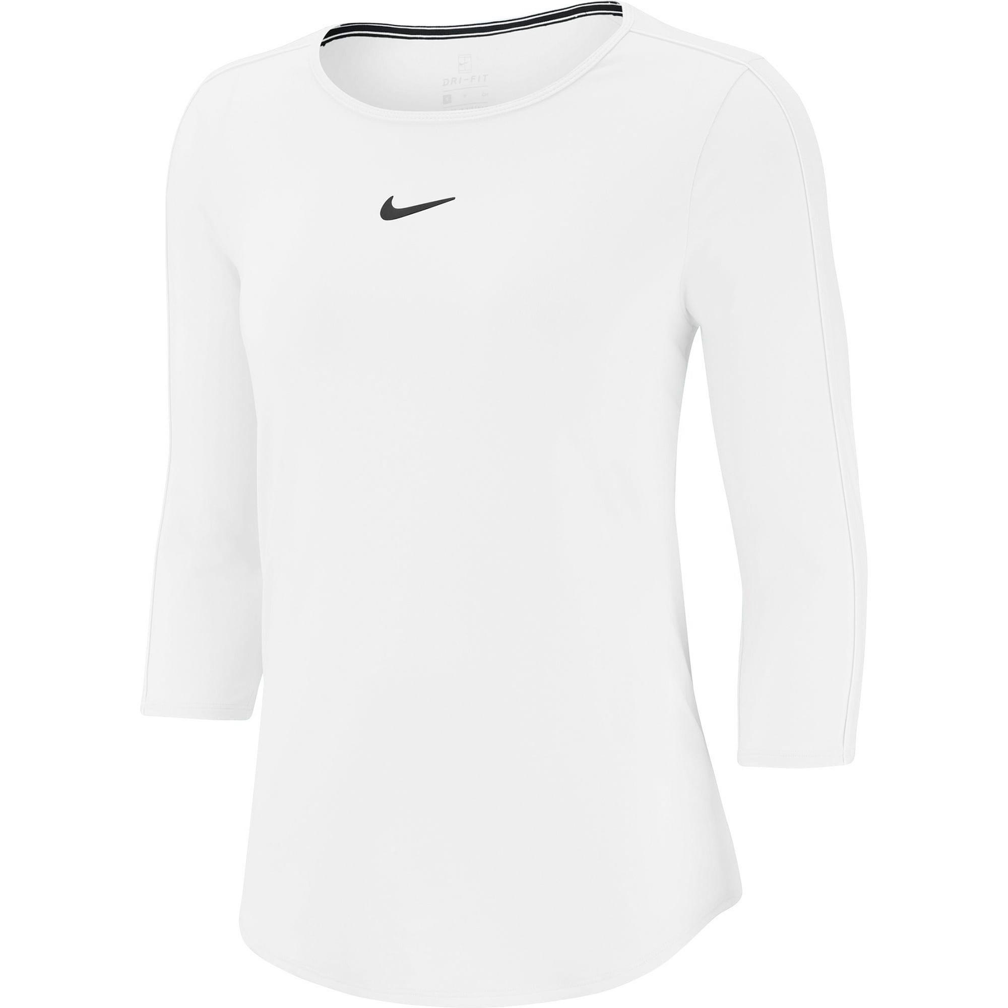 Tennisshirt 'W NKCT TOP 3QT' | Sportbekleidung > Sportshirts > Tennisshirts | Nike