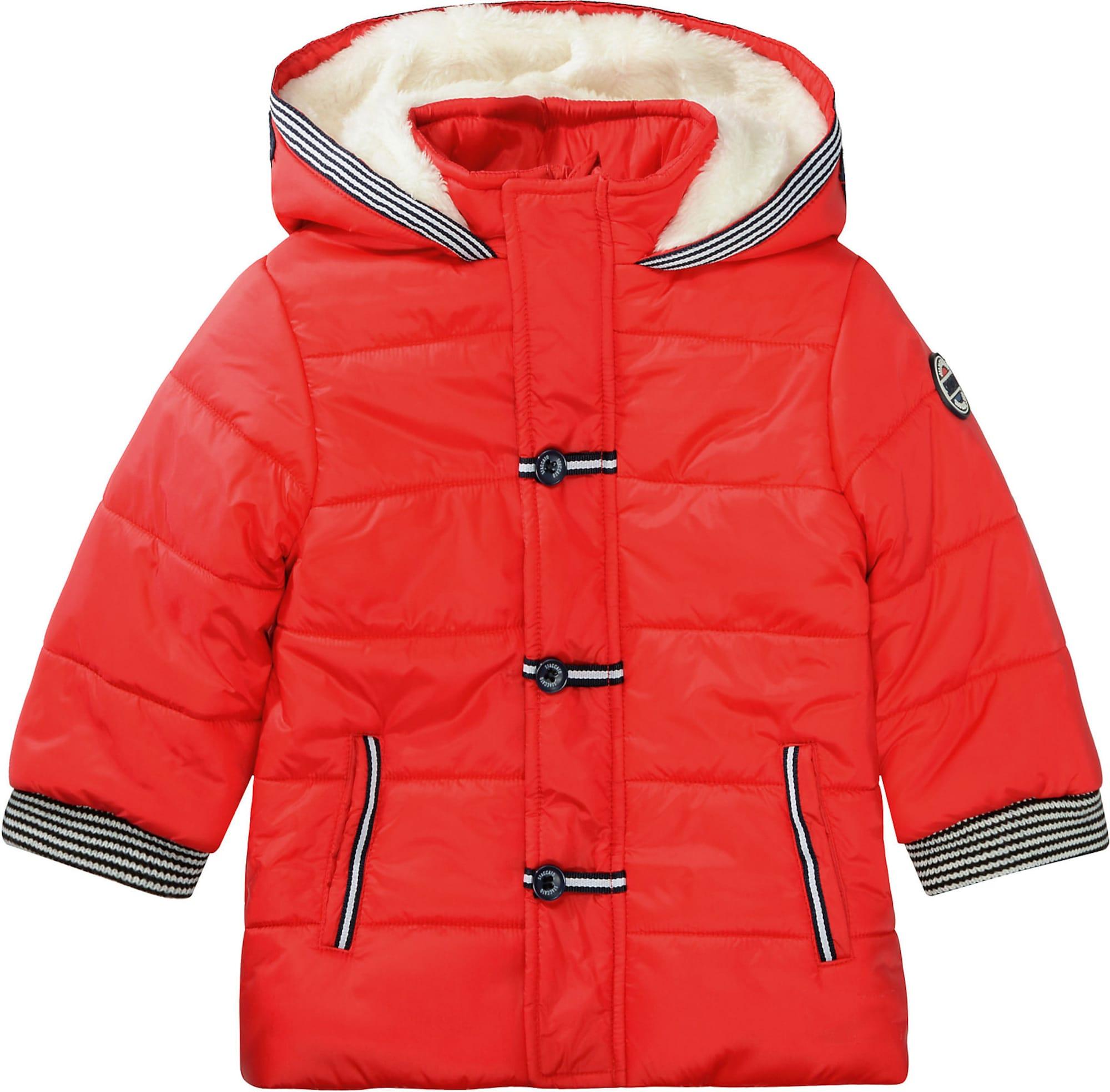STACCATO Žieminė striukė raudona / juoda / balta