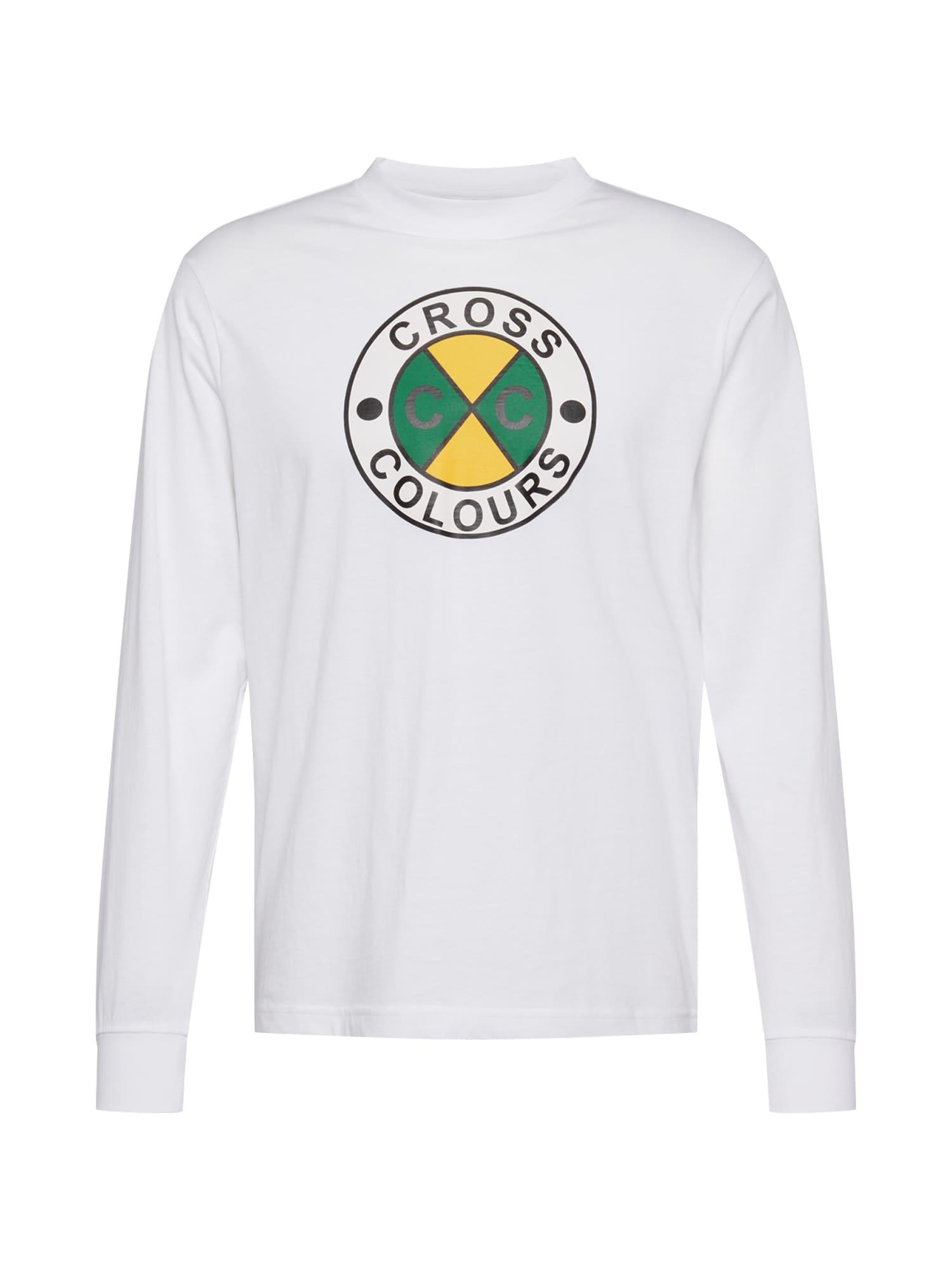 CROSS COLOURS Marškinėliai balta