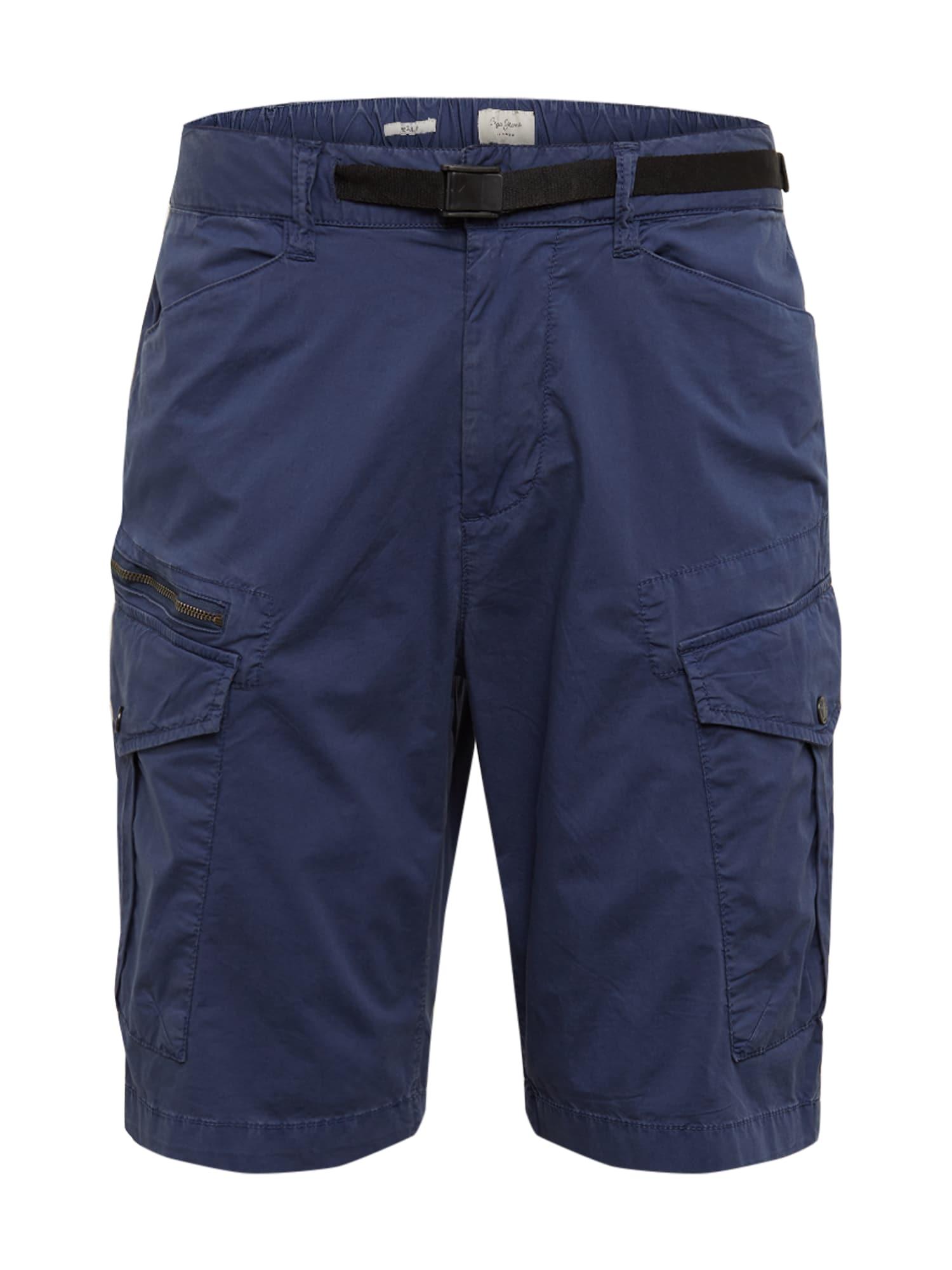 Pepe Jeans Laisvo stiliaus kelnės 'EXPEDIT' tamsiai mėlyna