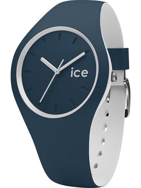 Uhren für Frauen - ICE WATCH Uhr 'ICE duo' dunkelblau naturweiß  - Onlineshop ABOUT YOU