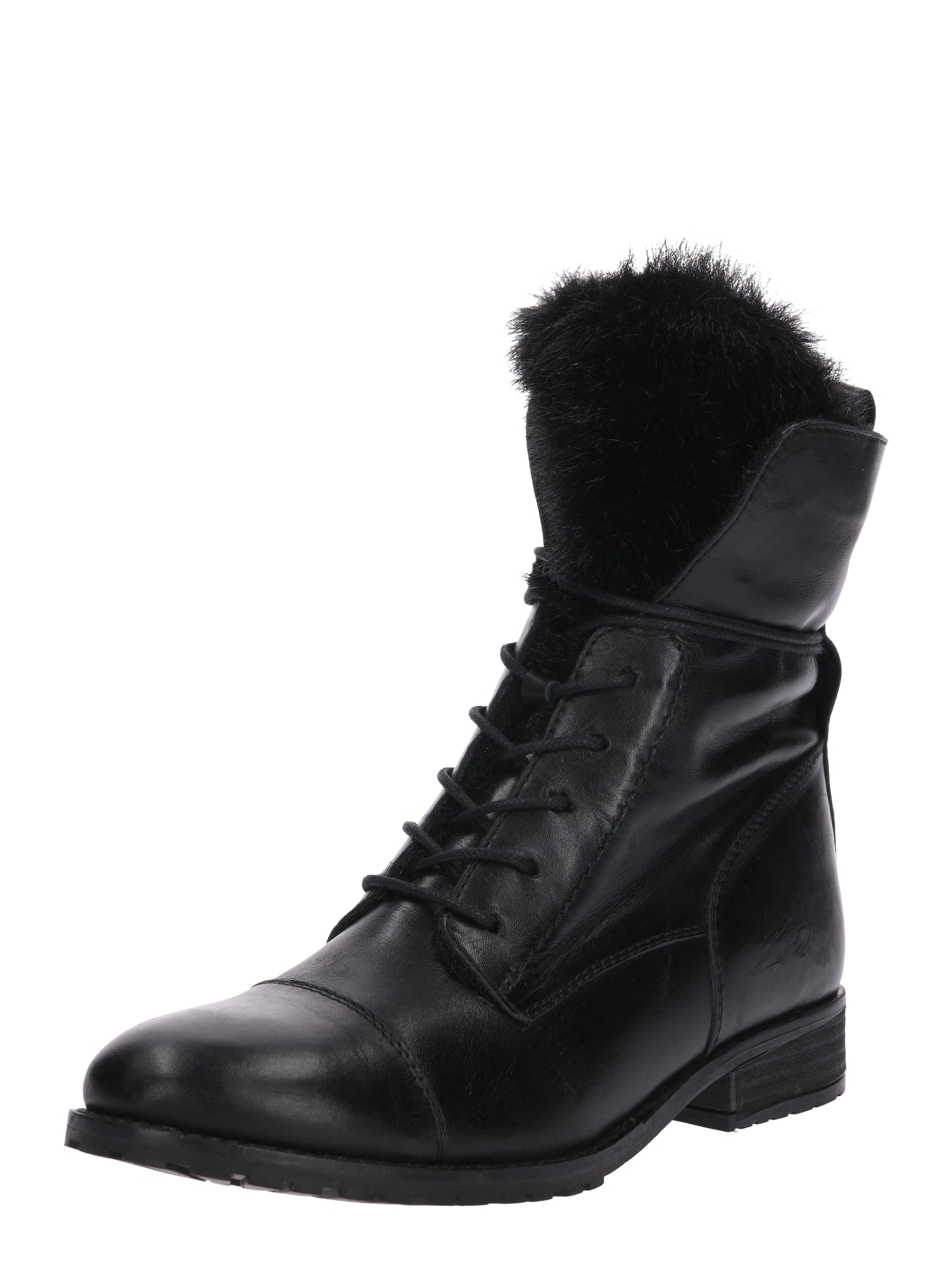 ABOUT YOU Suvarstomieji kulkšnis dengiantys batai 'Sally' juoda