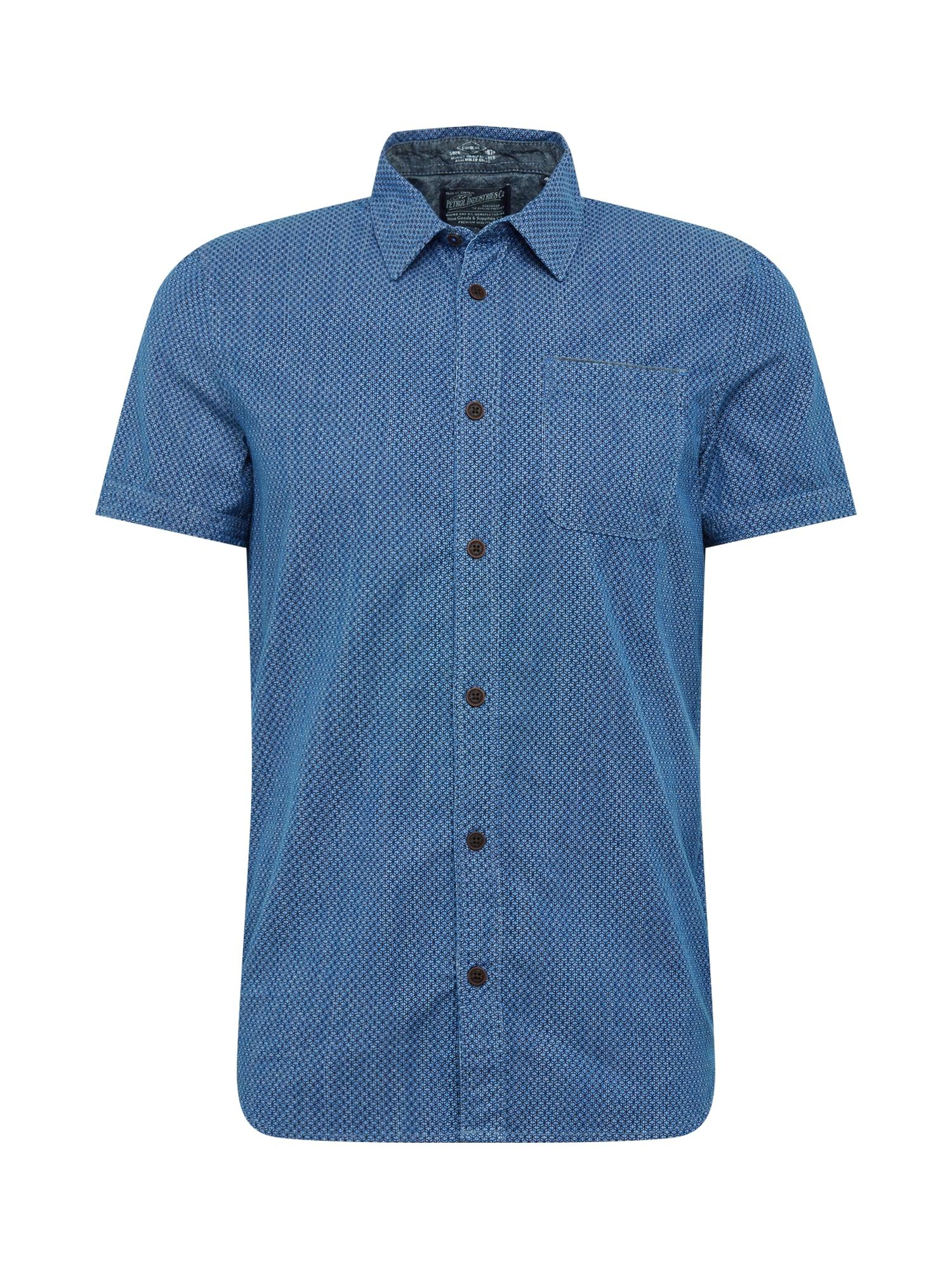 Košile tmavě modrá Petrol Industries