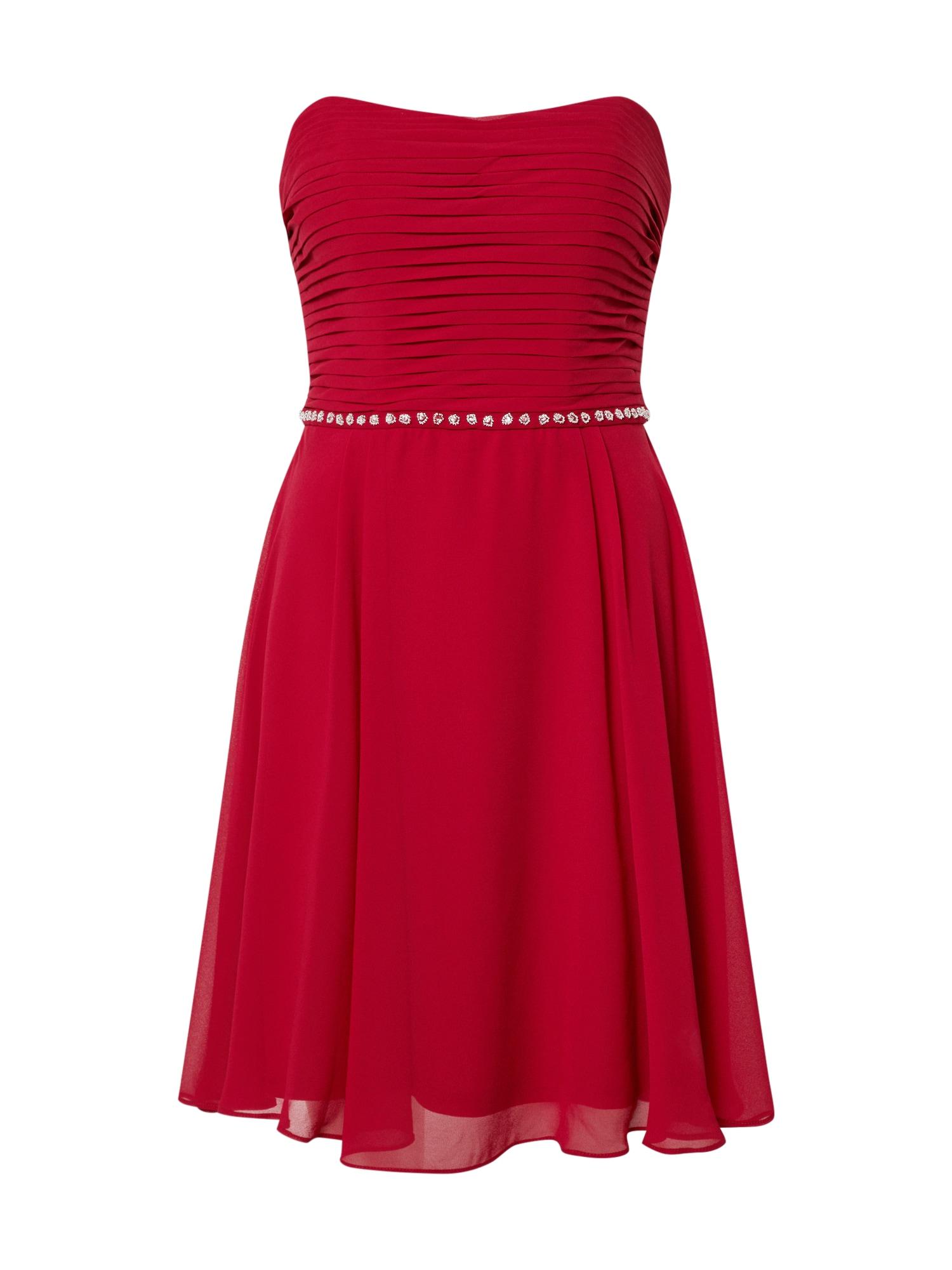 STAR NIGHT Kokteilinė suknelė raudona