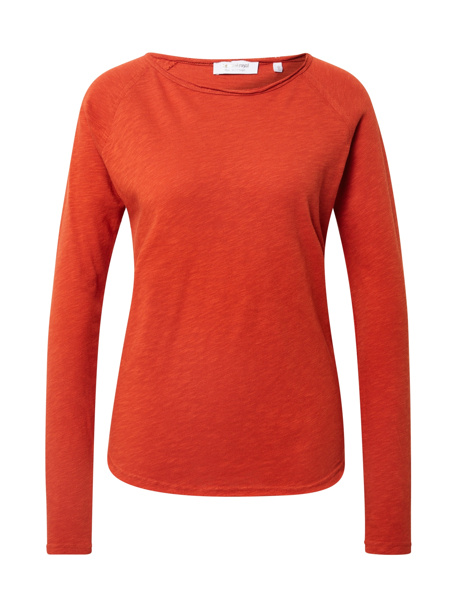 Rich & Royal Marškinėliai rūdžių raudona