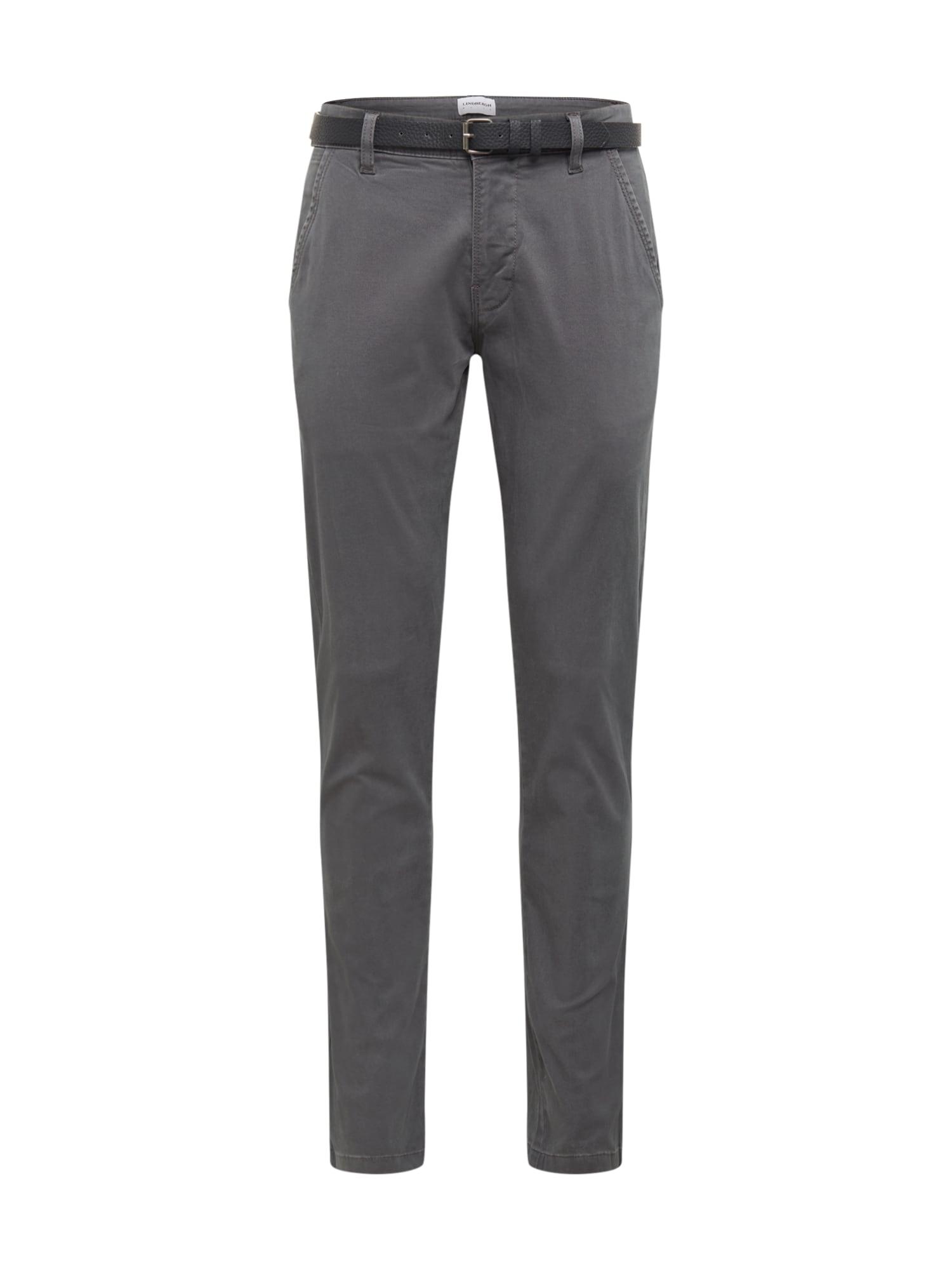 Lindbergh Chino kalhoty  šedá