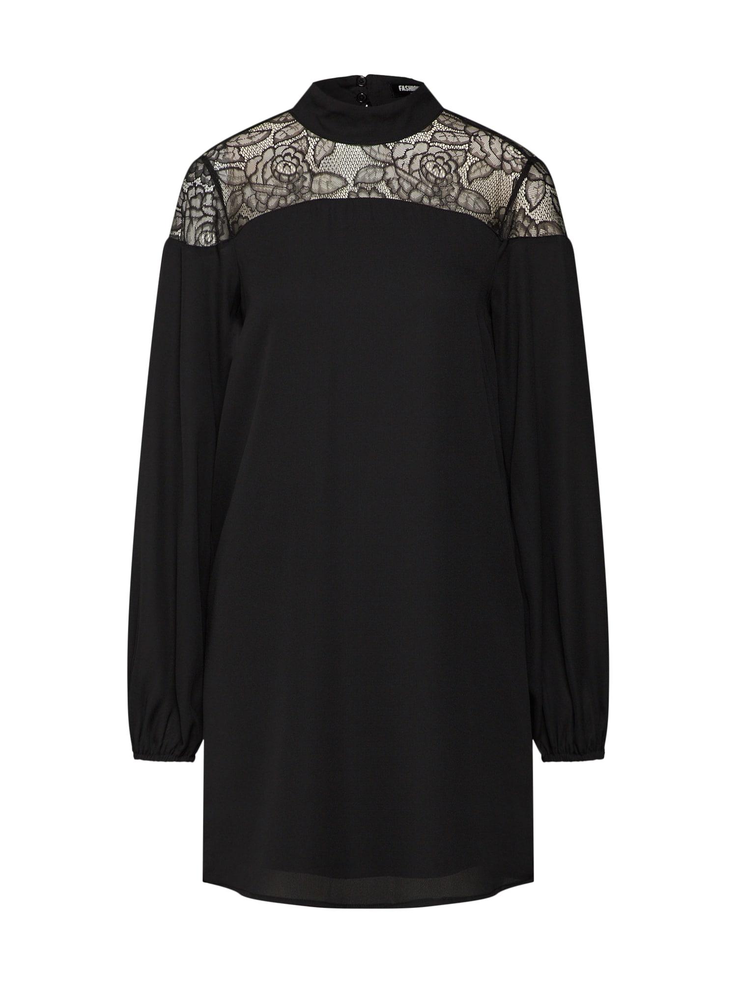 Šaty černá Fashion Union