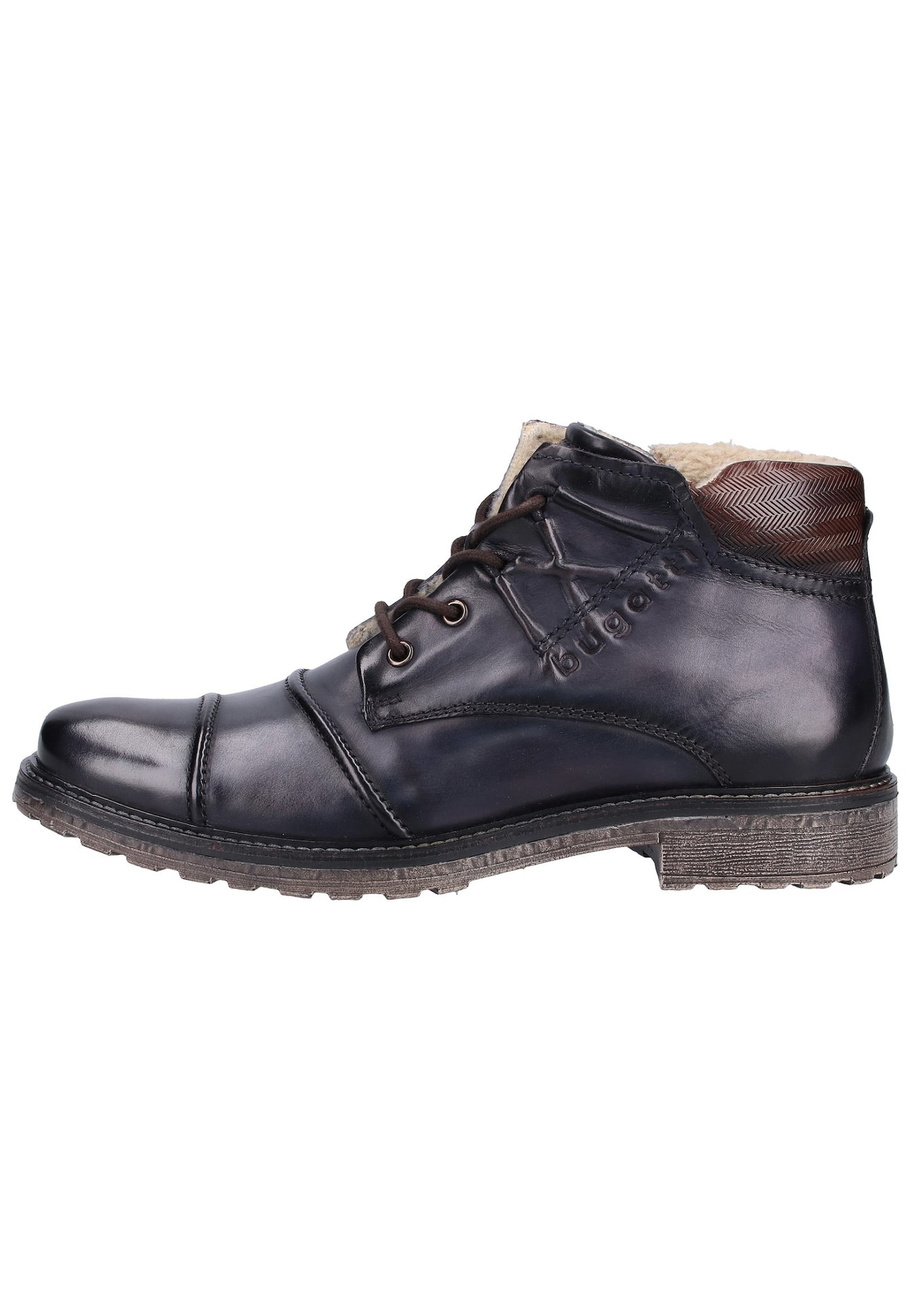 bugatti Suvarstomieji batai tamsiai ruda / tamsiai mėlyna