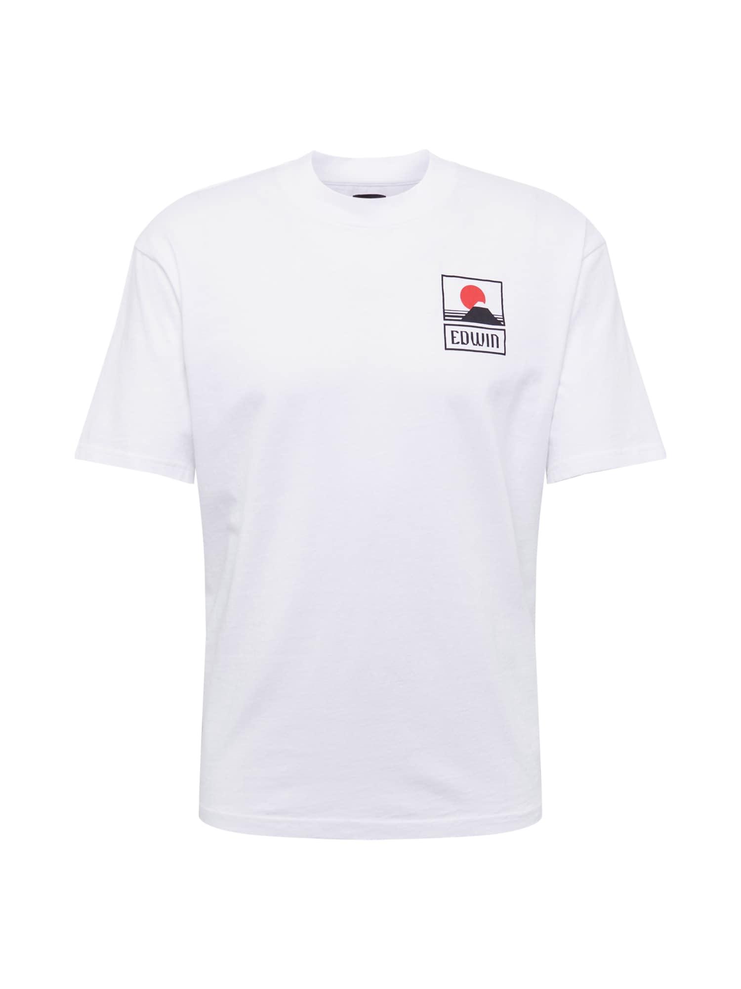 Tričko Sunset On Mt Fuji TS bílá EDWIN