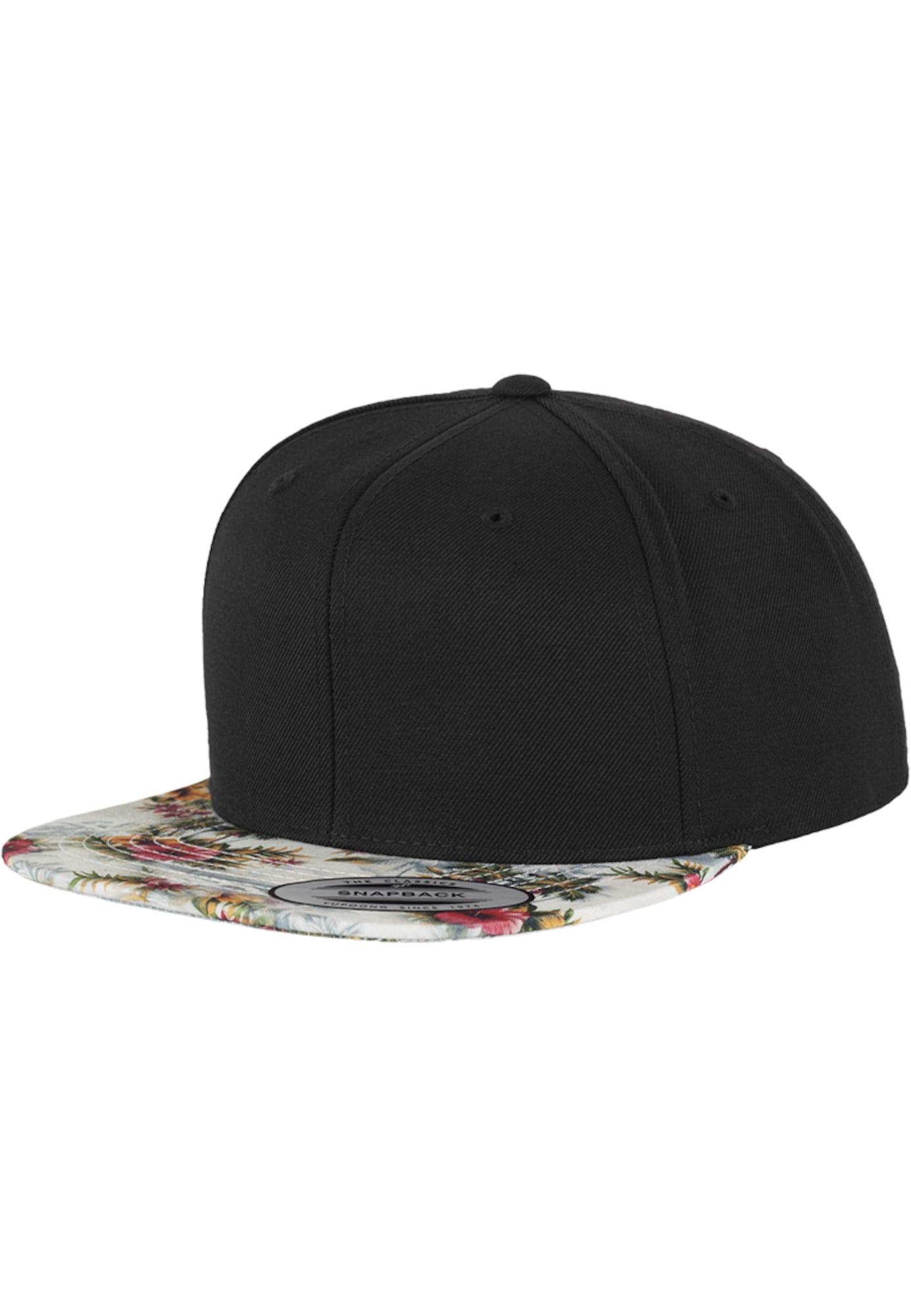 Flexfit Kepurė juoda / balta / pitajų spalva / žolės žalia / garstyčių spalva