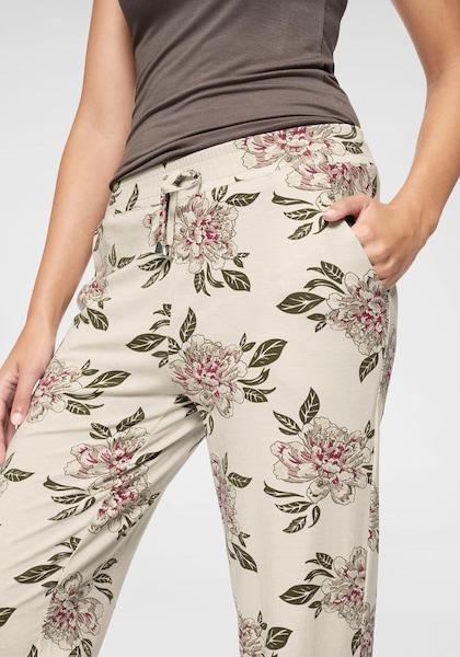 Hosen für Frauen - BOYSEN'S Jerseyhose creme khaki  - Onlineshop ABOUT YOU