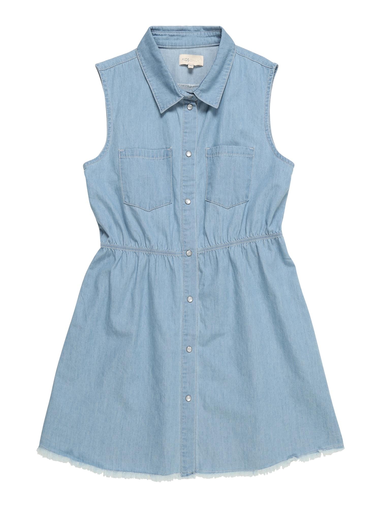 Šaty modrá džínovina KIDS ONLY