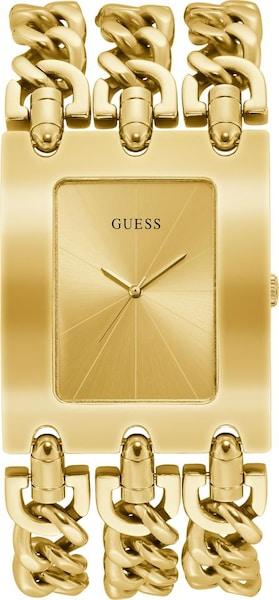 Uhren für Frauen - Quarzuhr 'Heavy Metal, W1274L2' › Guess › gold  - Onlineshop ABOUT YOU