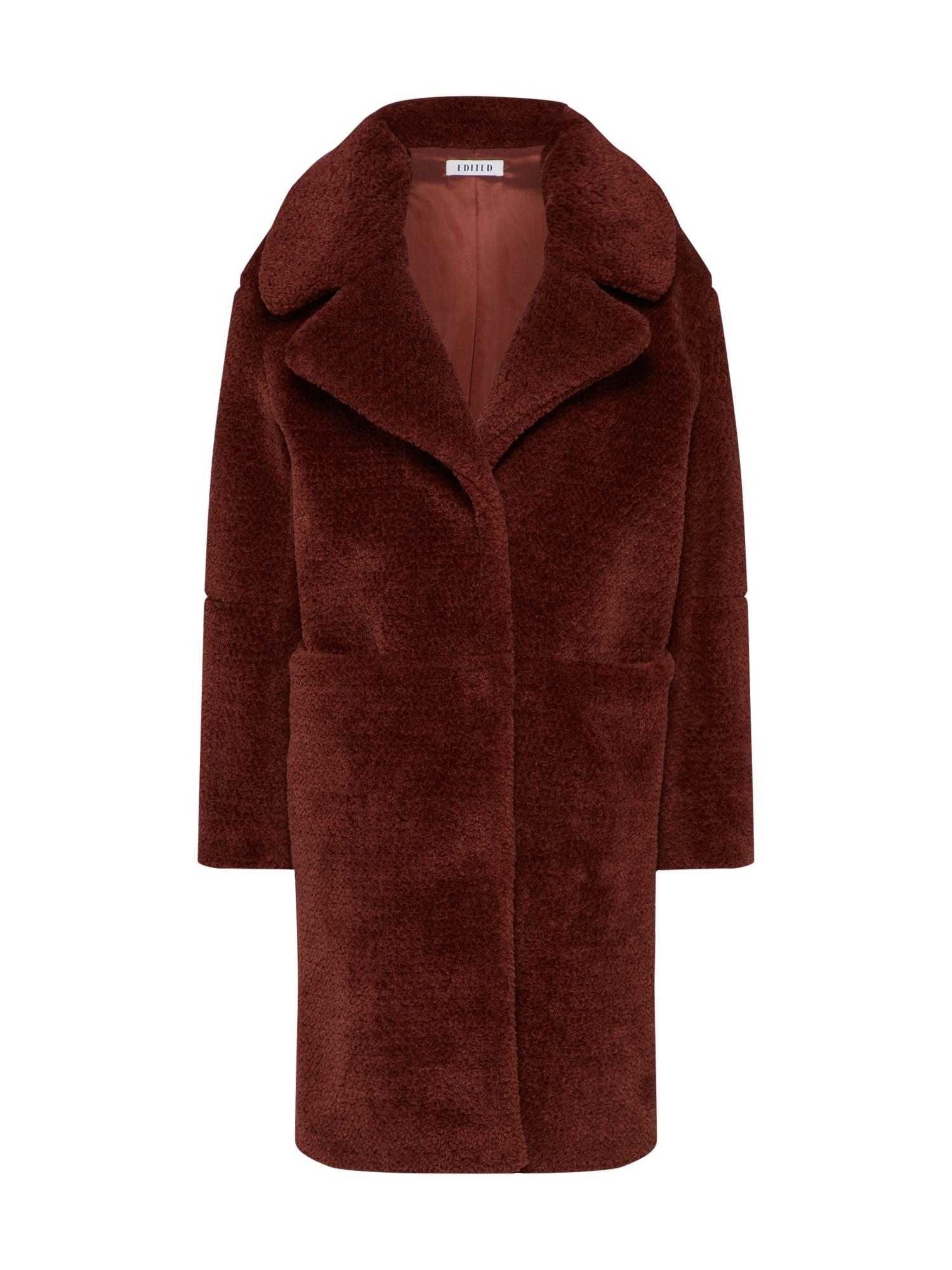EDITED Žieminis paltas 'Bianca' rusva
