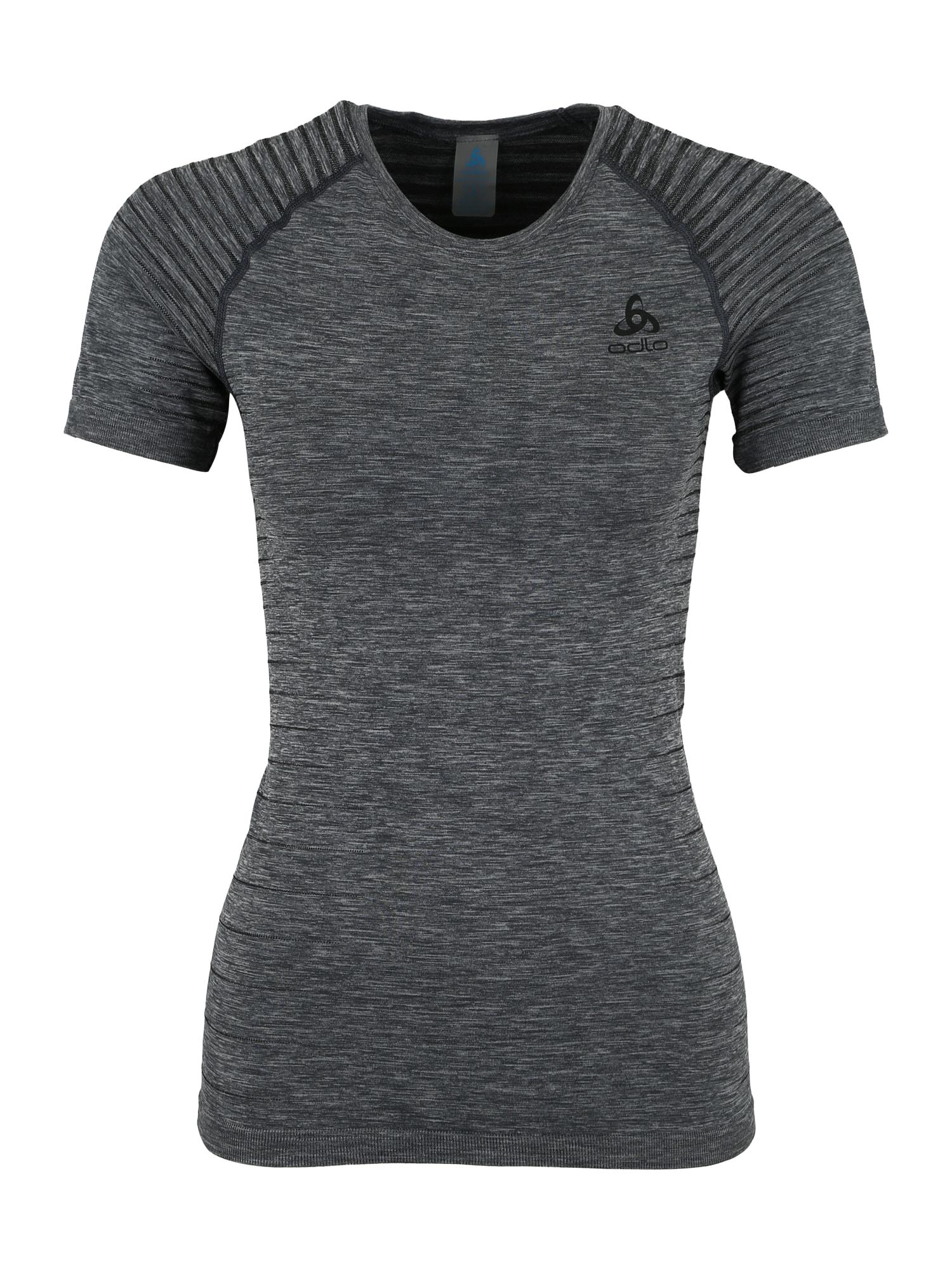 ODLO Sportiniai apatiniai marškinėliai 'Performance Light' margai pilka