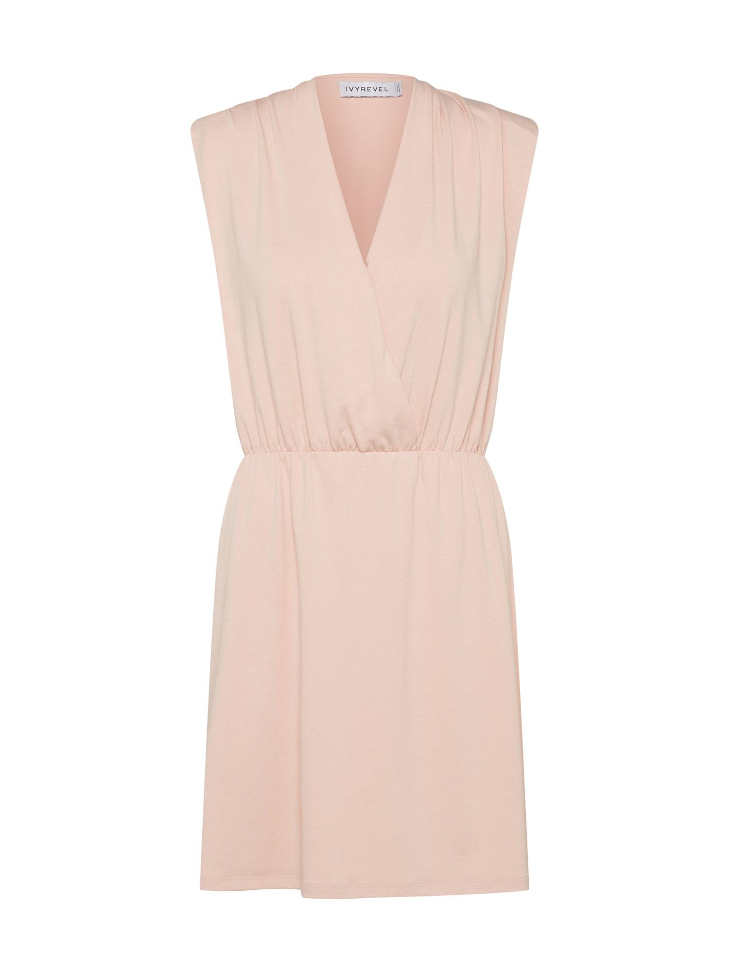 Koktejlové šaty SIMONE růžová IVYREVEL