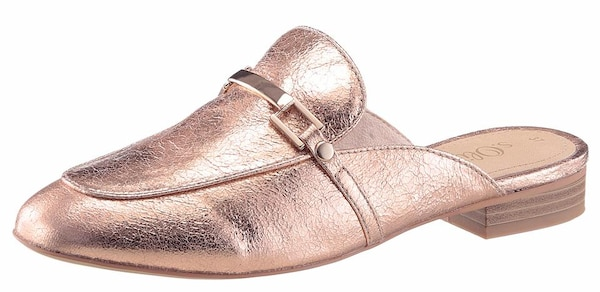 Clogs für Frauen - S.Oliver RED LABEL Clog rosegold  - Onlineshop ABOUT YOU