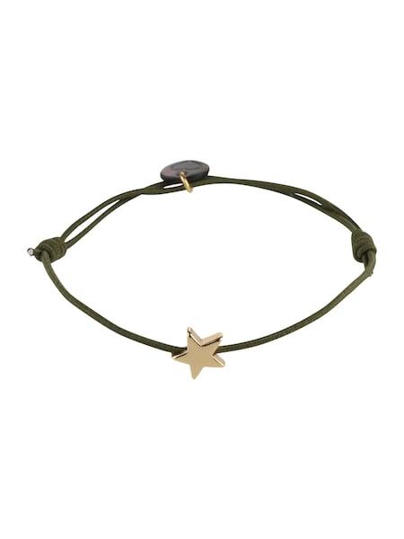 Armbaender für Frauen - Lua Accessories Armband 'Star' gold oliv  - Onlineshop ABOUT YOU