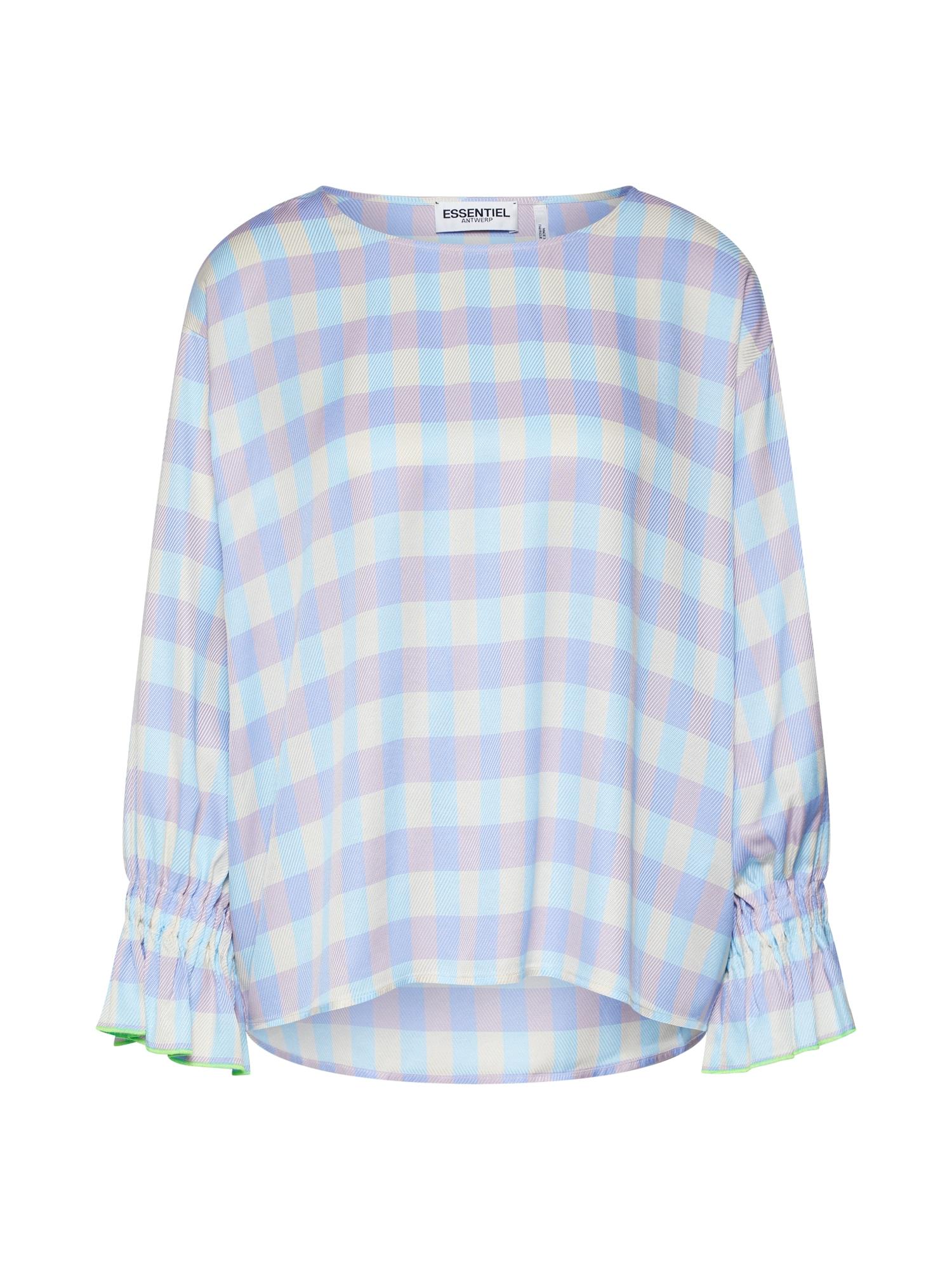 Tričko světlemodrá šeříková Essentiel Antwerp