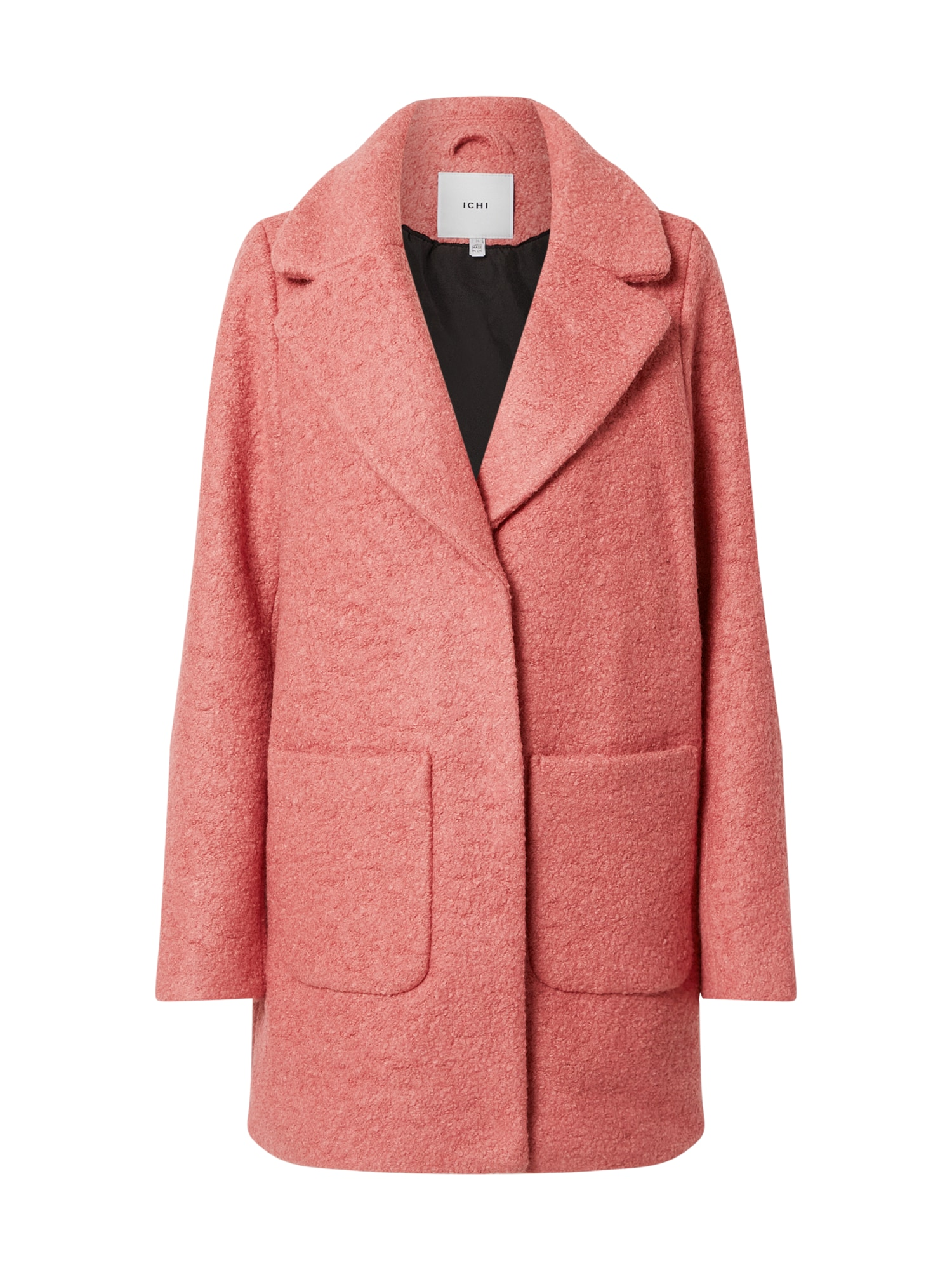 ICHI Demisezoninis paltas rožinė
