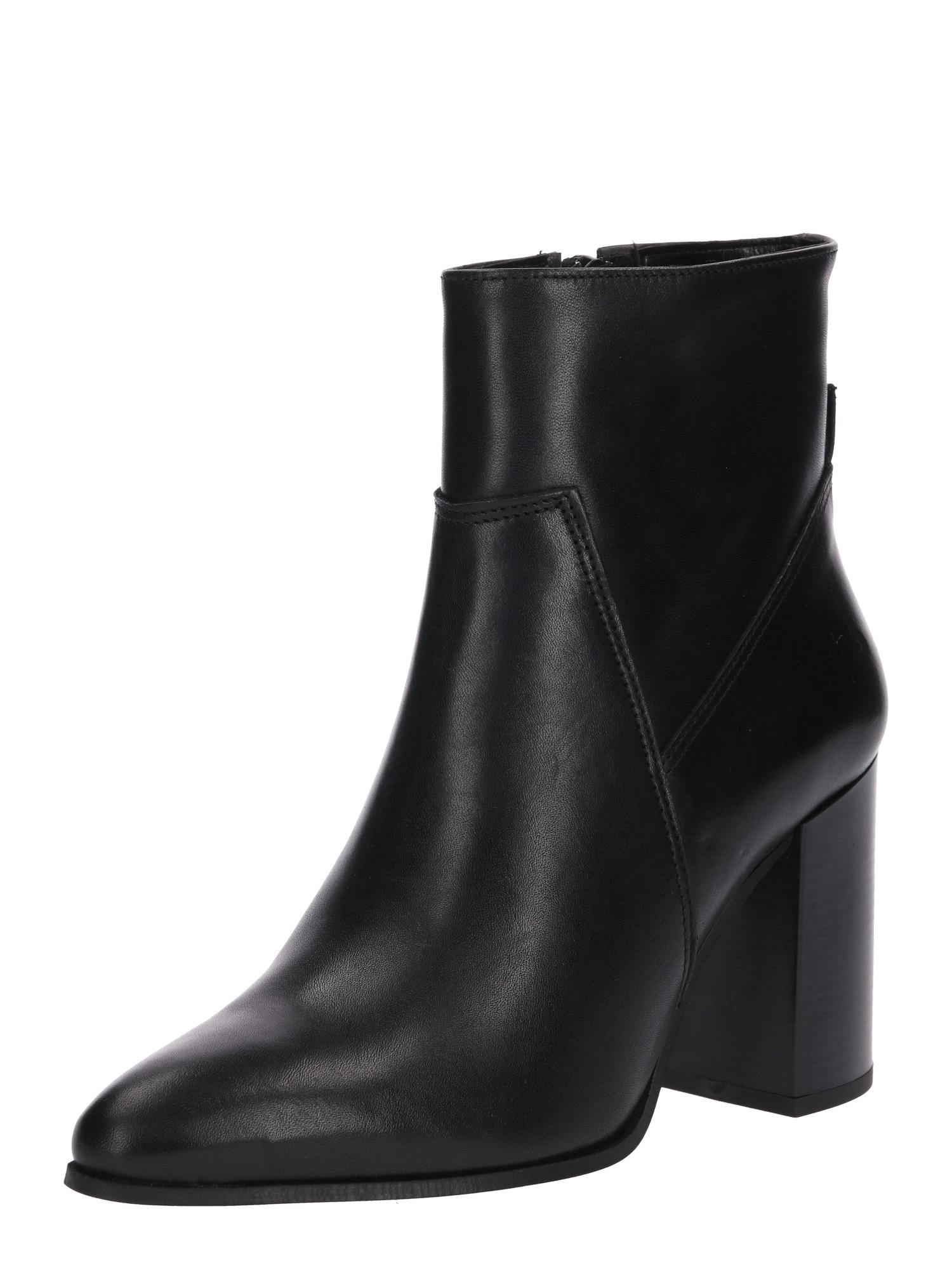 Kotníkové boty černá BULLBOXER
