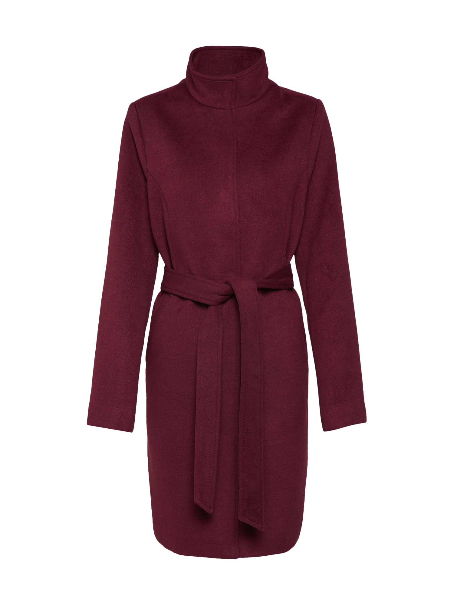ABOUT YOU Rudeninis-žieminis paltas 'Carla' burgundiško vyno spalva