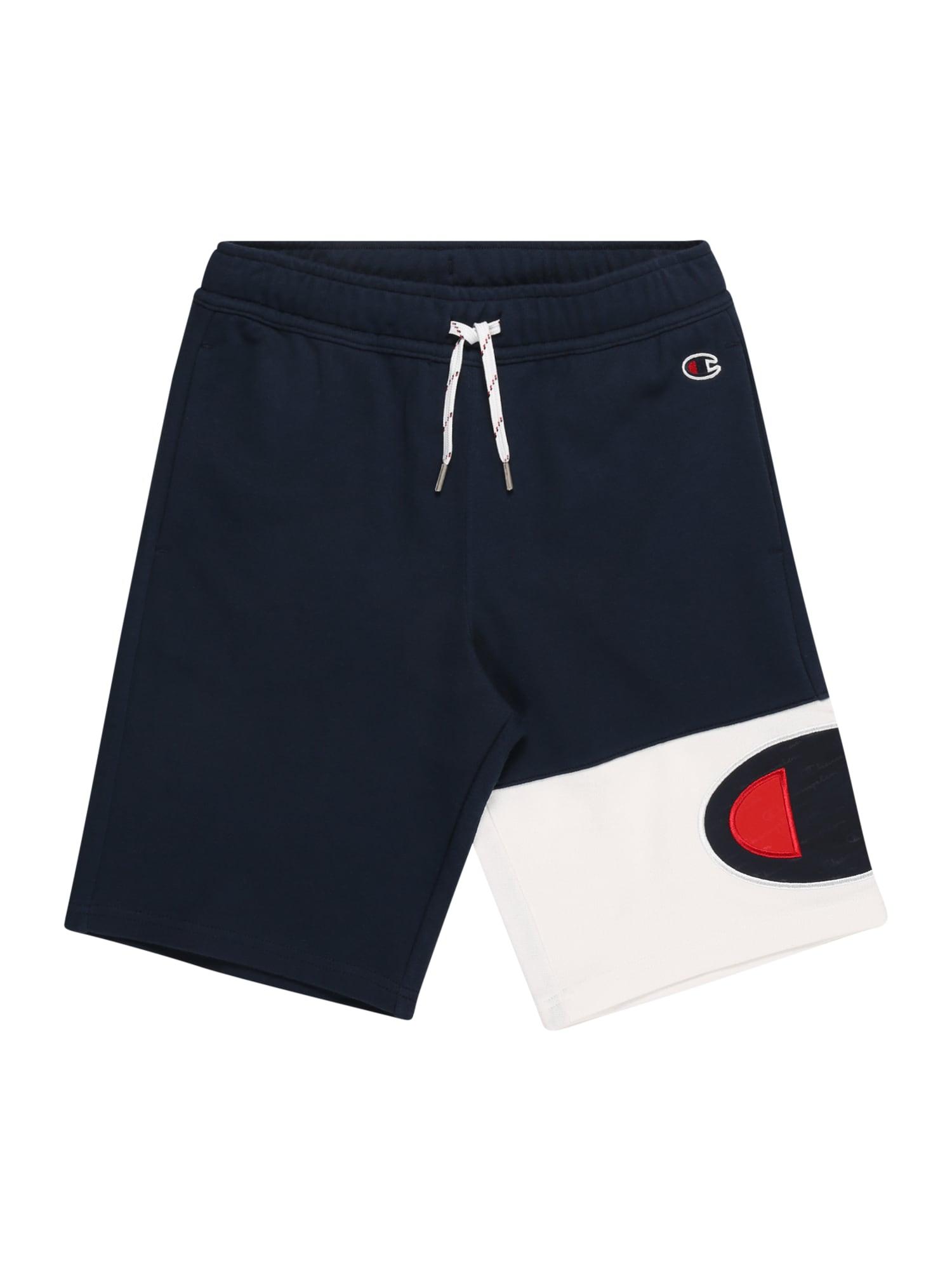Champion Authentic Athletic Apparel Plavecké šortky  námornícka modrá / červené / biela