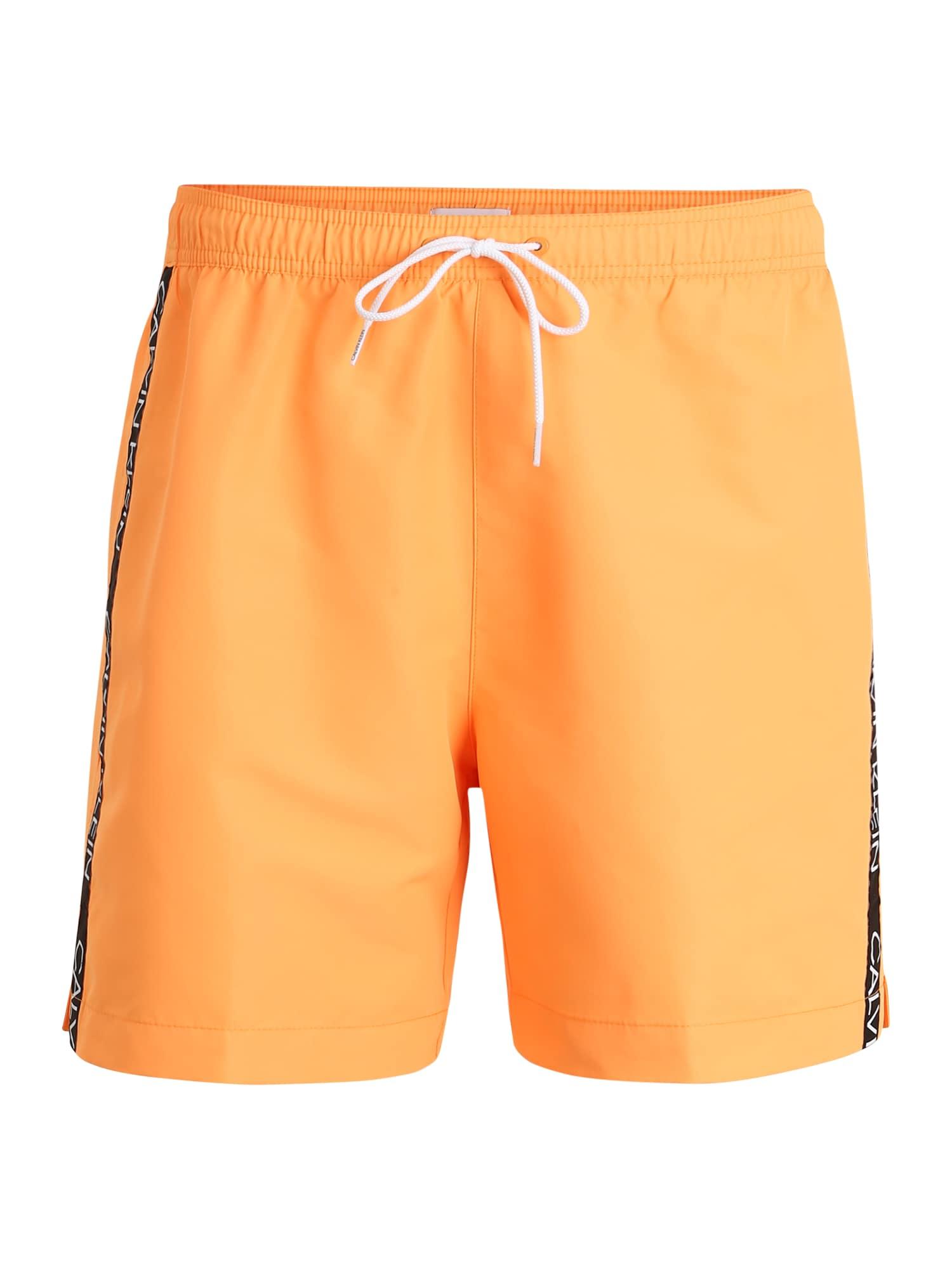 Calvin Klein Swimwear Maudymosi trumpikės oranžinė