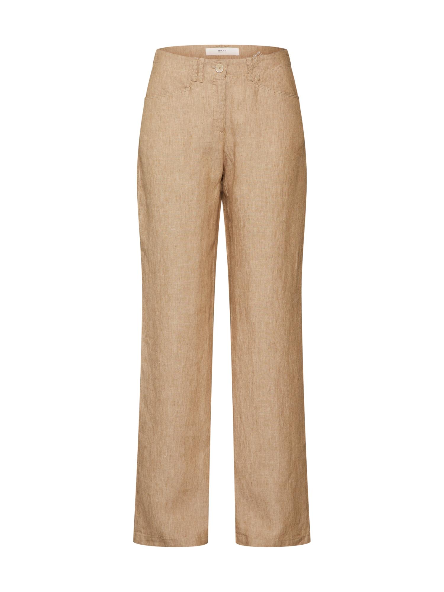 Kalhoty Farina světle béžová BRAX