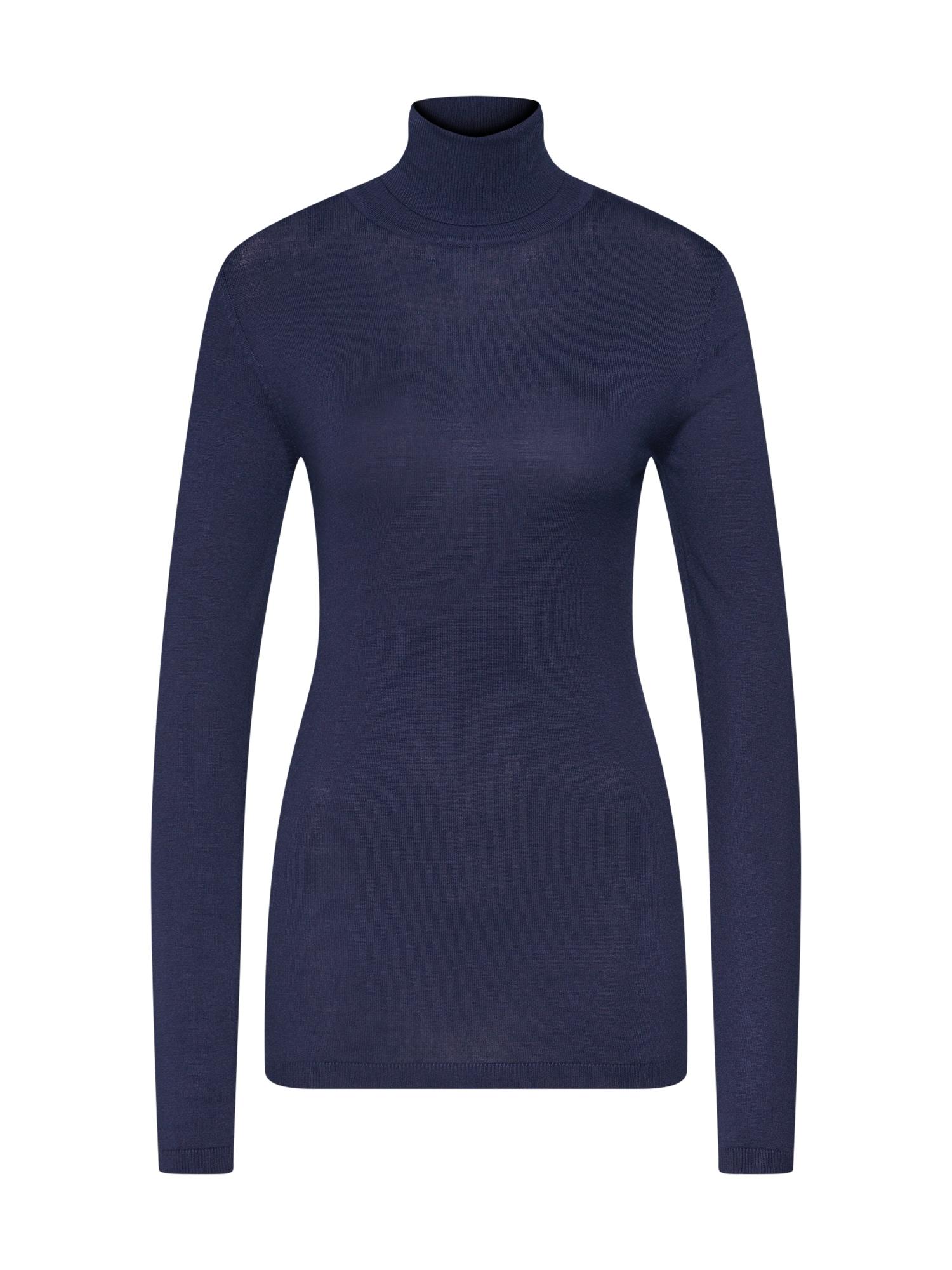 ICHI Megztinis 'MAFA' nakties mėlyna