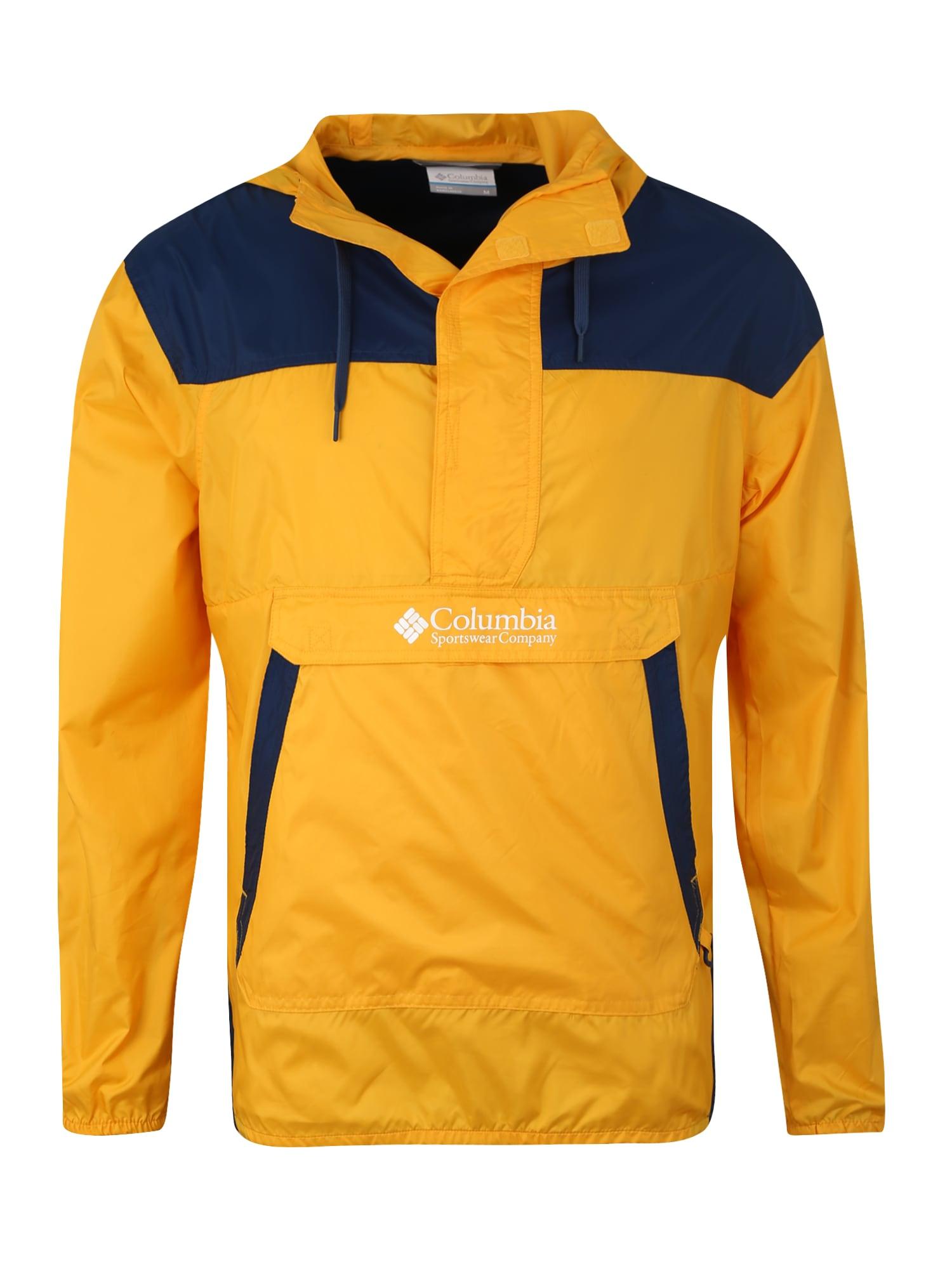 Outdoorová bunda Challenger žlutá černá COLUMBIA