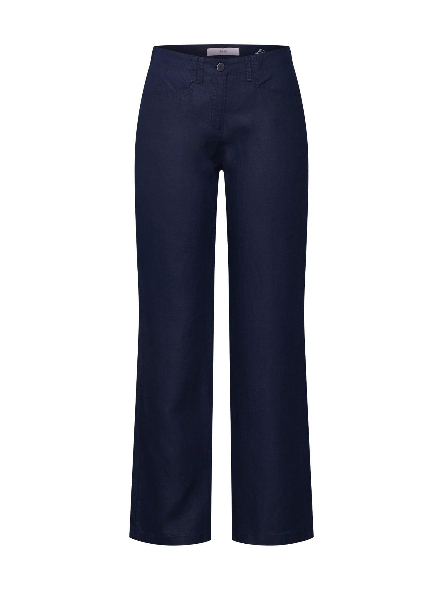 Kalhoty Farina námořnická modř BRAX