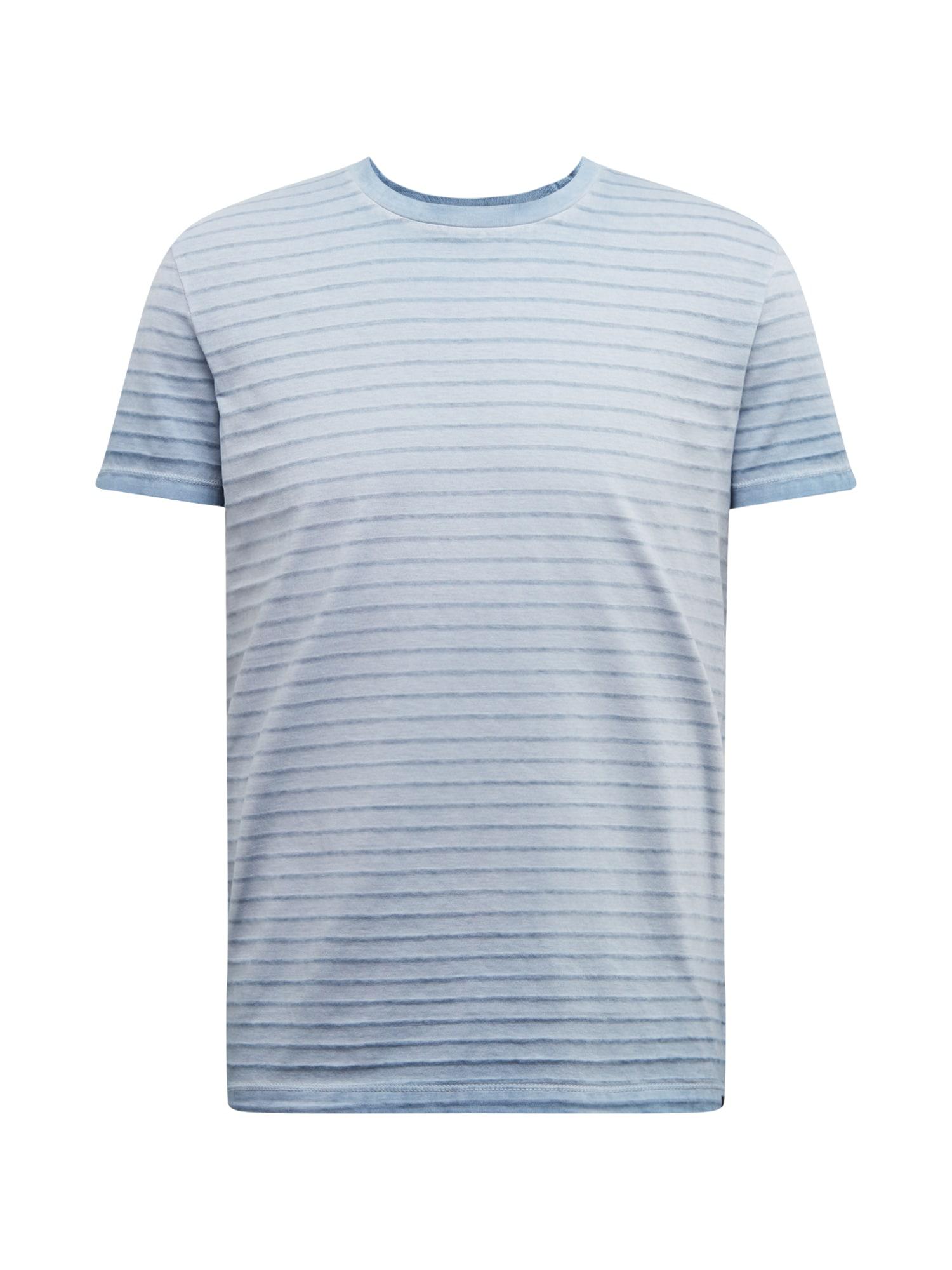 Marc O'Polo Marškinėliai 'Organic / / T-SHIRTS SHORT SLEEVE' tamsiai mėlyna