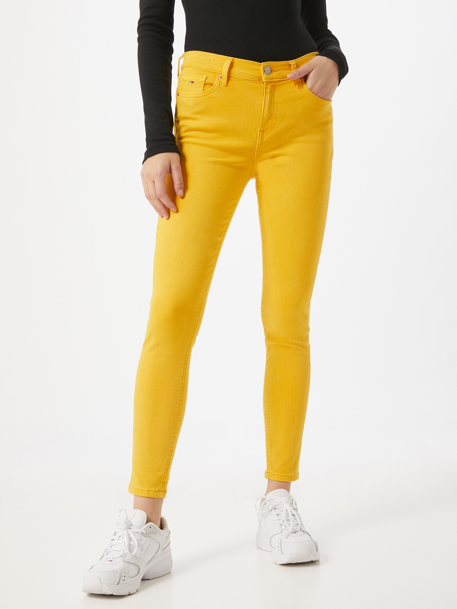 Tommy Jeans Jeans 'NORA MID RISE SKINNY'  gul