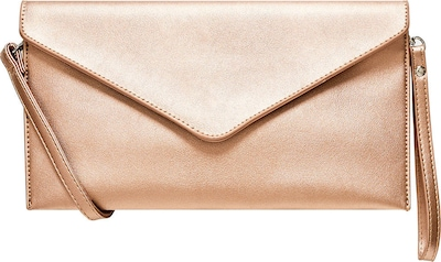 HALLHUBER Kuvert-Clutch im Metallic-Look