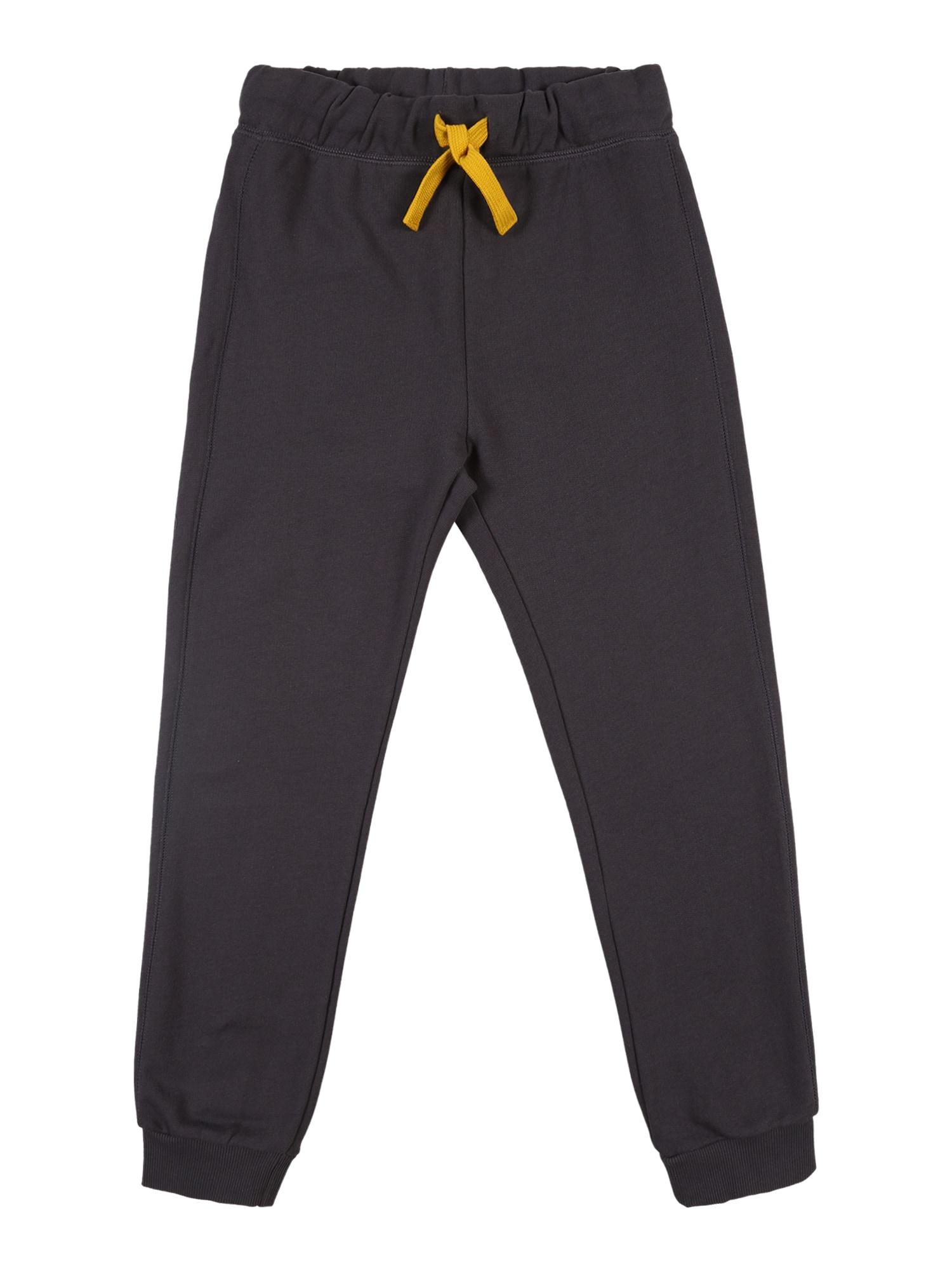 UNITED COLORS OF BENETTON Kalhoty  zlatě žlutá / tmavě šedá