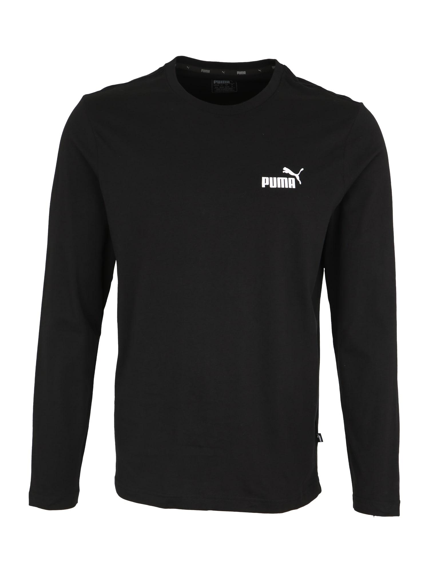 PUMA Sportinio tipo megztinis 'No.1' juoda
