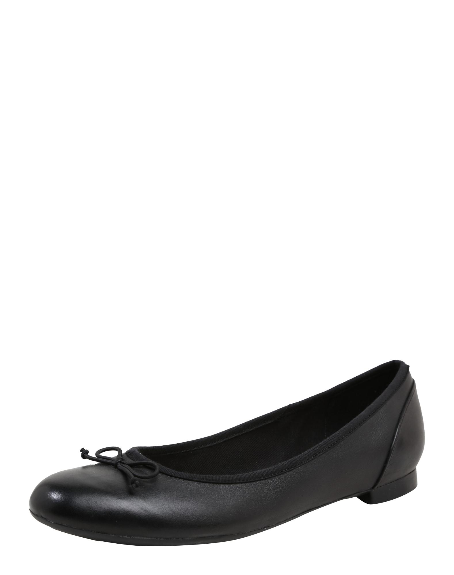 Baleríny Couture bloom černá CLARKS