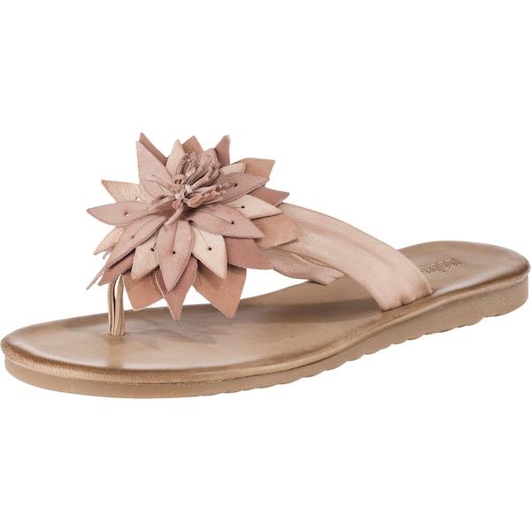 Sandalen für Frauen - Zehentrenner › KLONDIKE 1896 › pastellpink  - Onlineshop ABOUT YOU