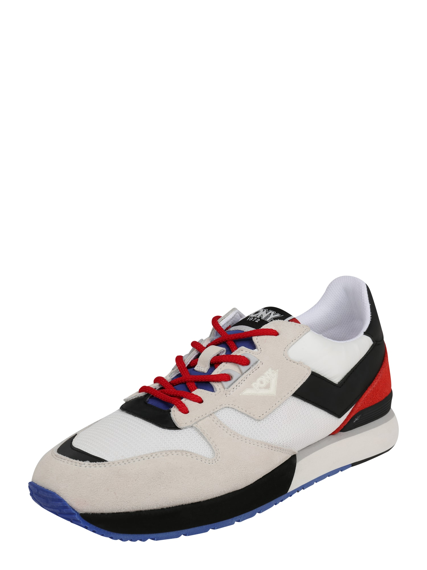 PONY Tenisky 'RACER IV'  červená / černá / bílá