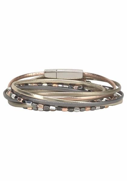 Armbaender für Frauen - J. Jayz Armband gold grau basaltgrau  - Onlineshop ABOUT YOU