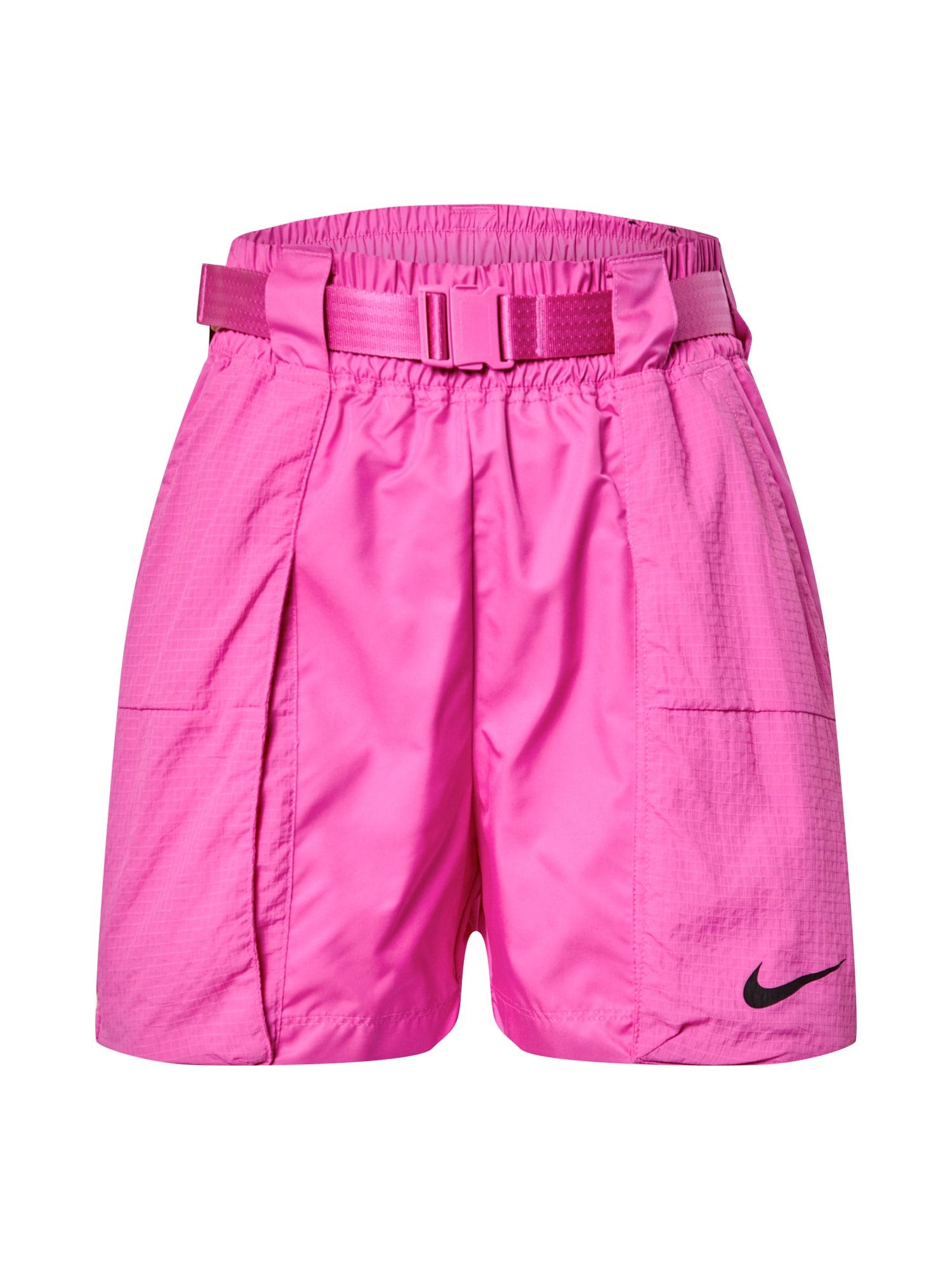 Nike Sportswear Nohavice 'W NSW SWSH SHORT WVN'  fuksia