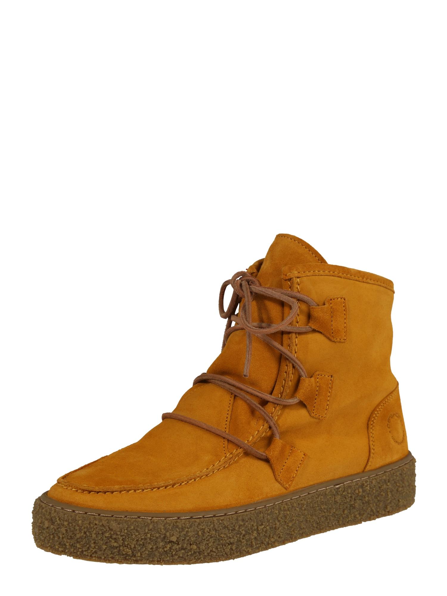 Ca Shott Suvarstomieji kulkšnis dengiantys batai geltona
