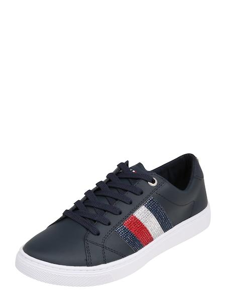 Sneakers für Frauen - Sneaker 'CRYSTAL' › Tommy Hilfiger › dunkelblau weiß  - Onlineshop ABOUT YOU