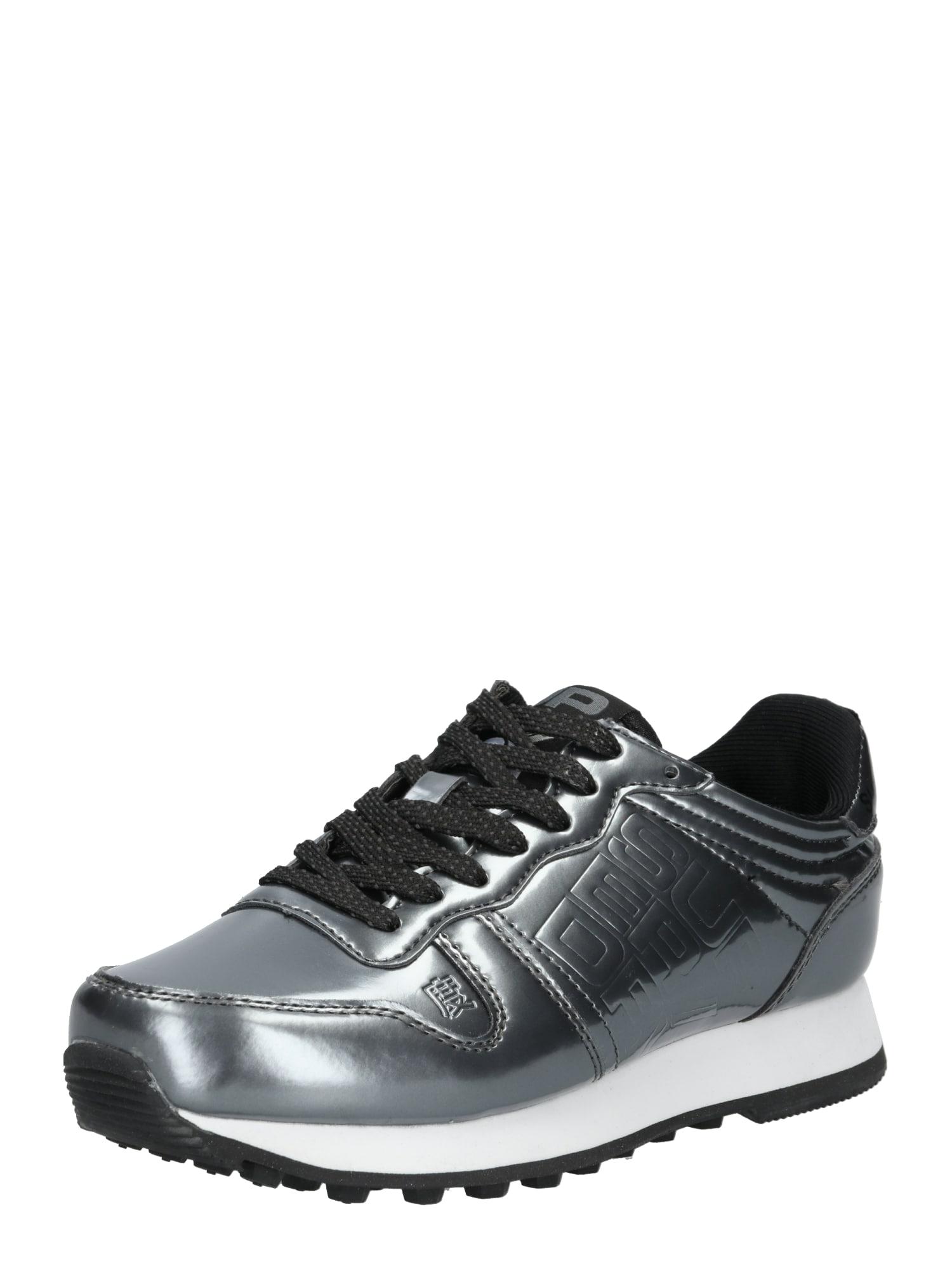 Tenisky stříbrně šedá Superdry
