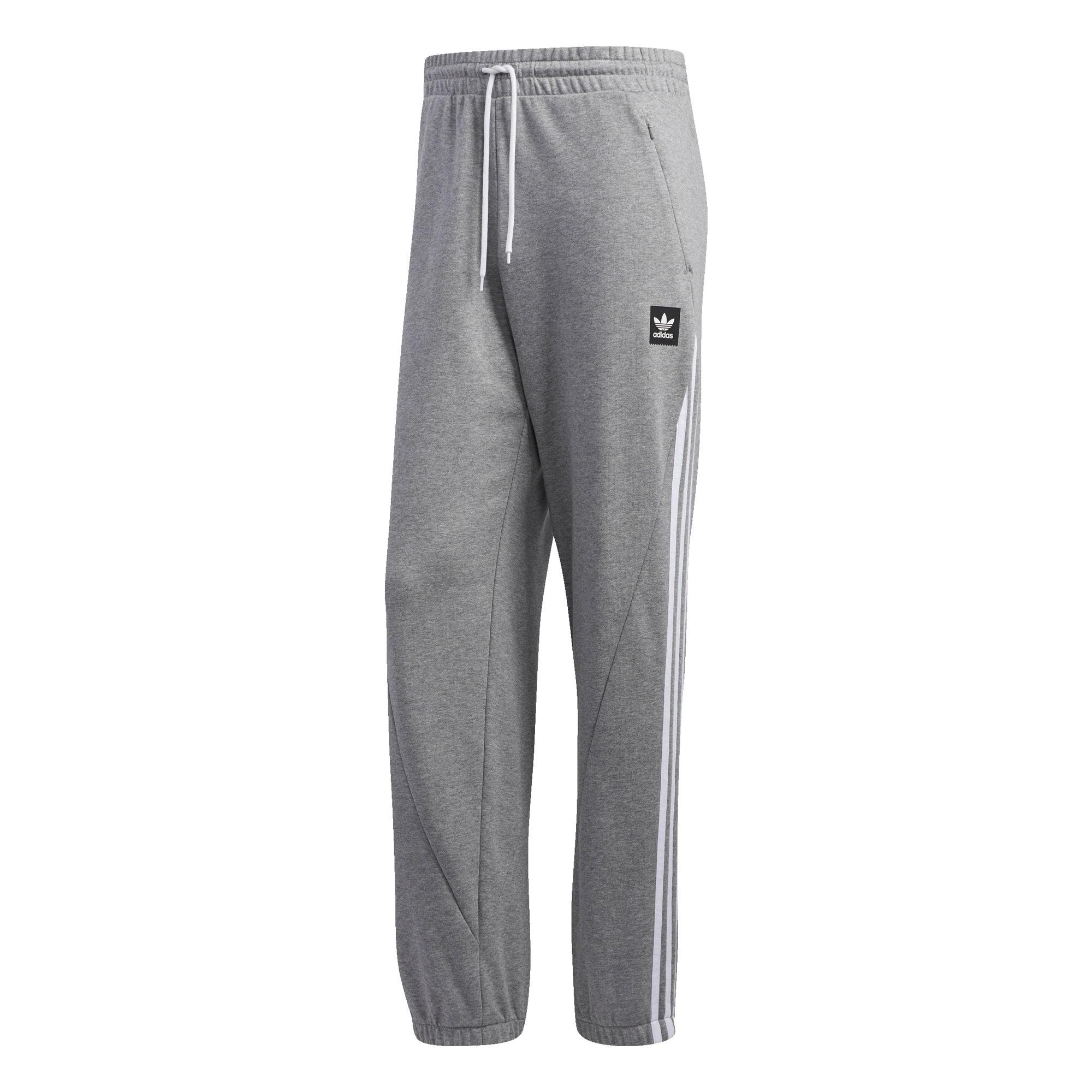 adidas Originals adicolor 3 Stripe Joggers In Grey CY4569 in