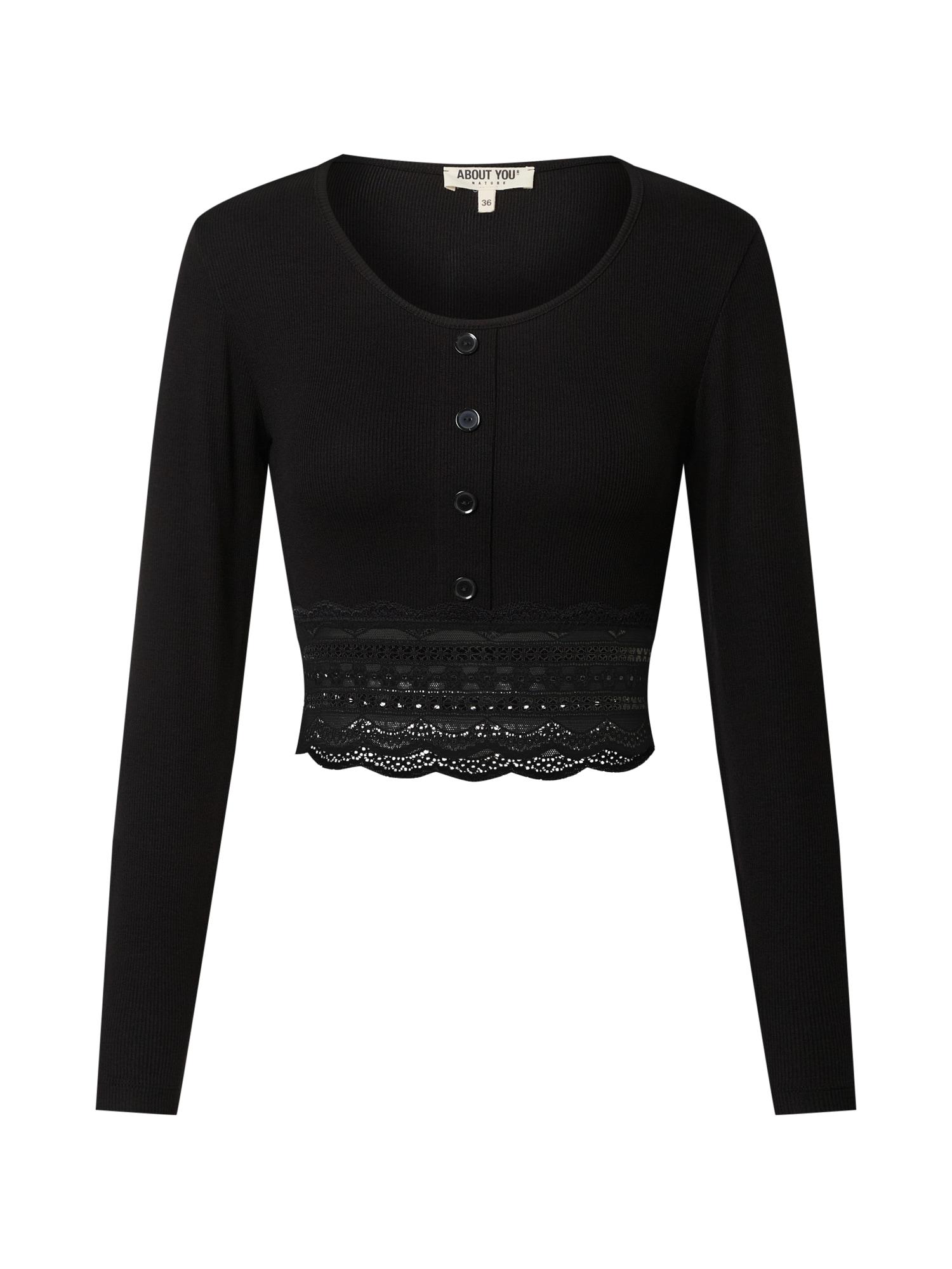 ABOUT YOU Marškinėliai 'Jasmina' juoda