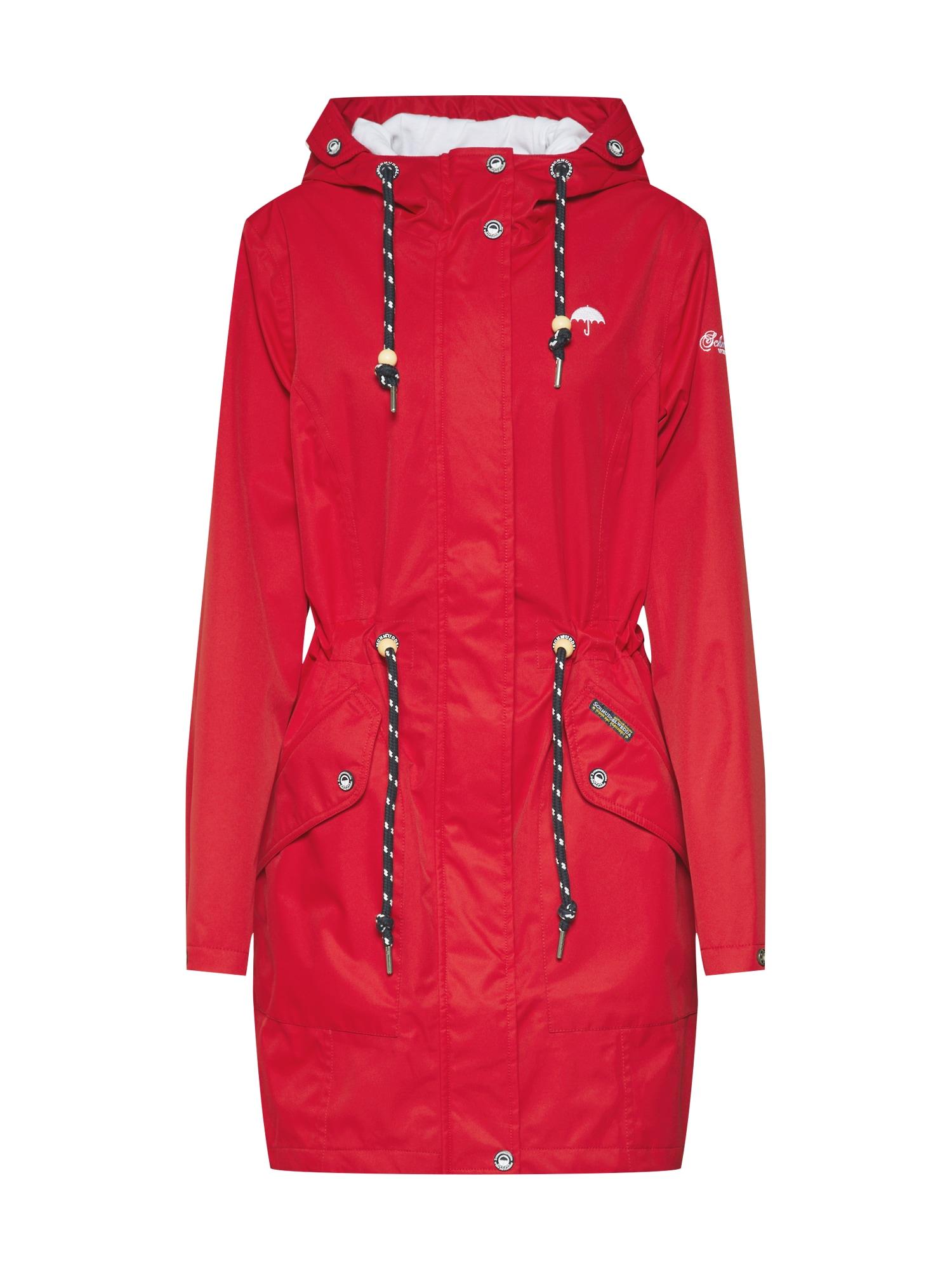 Funkční kabát červená Schmuddelwedda